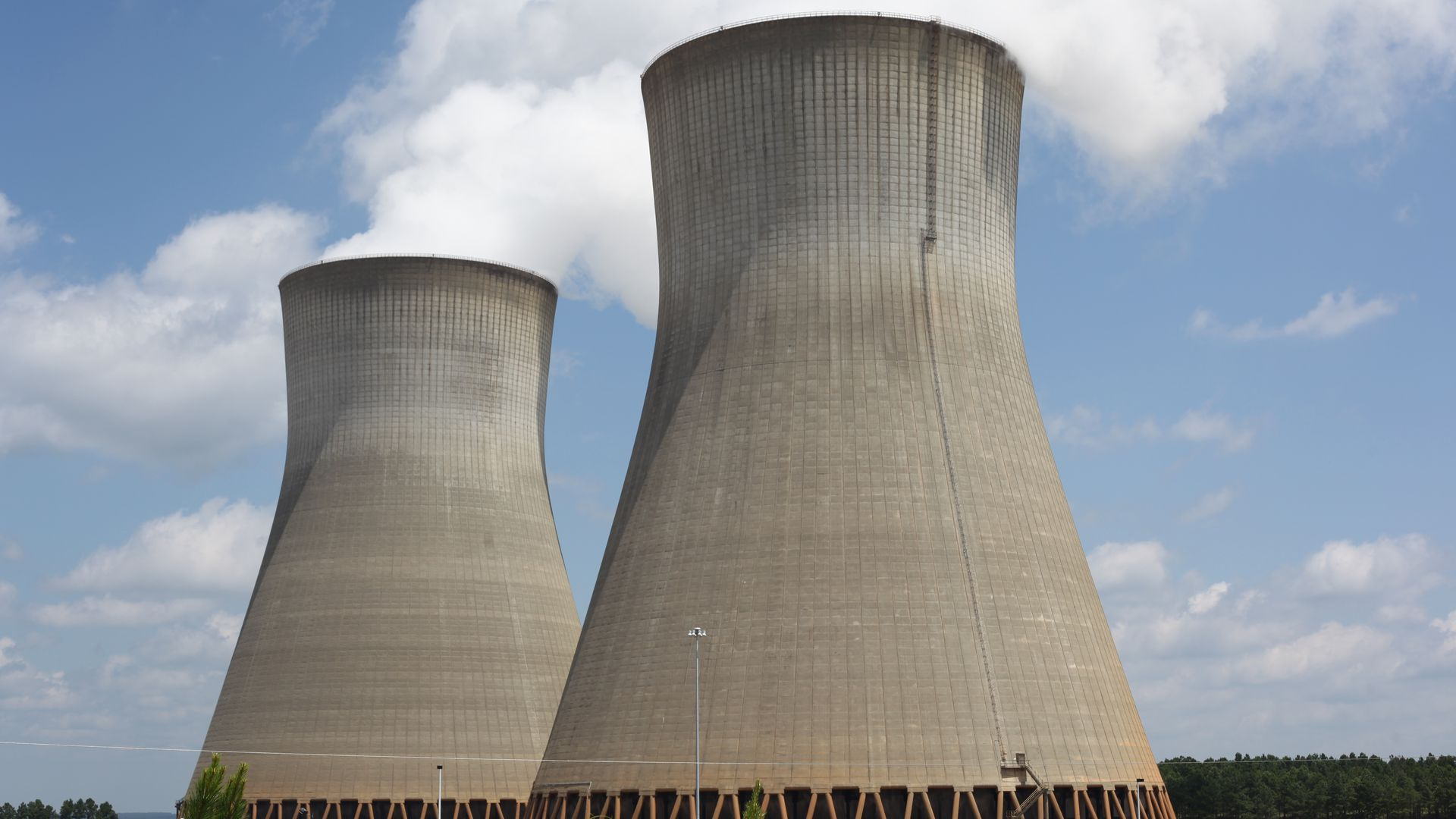 Two nuclear reactors