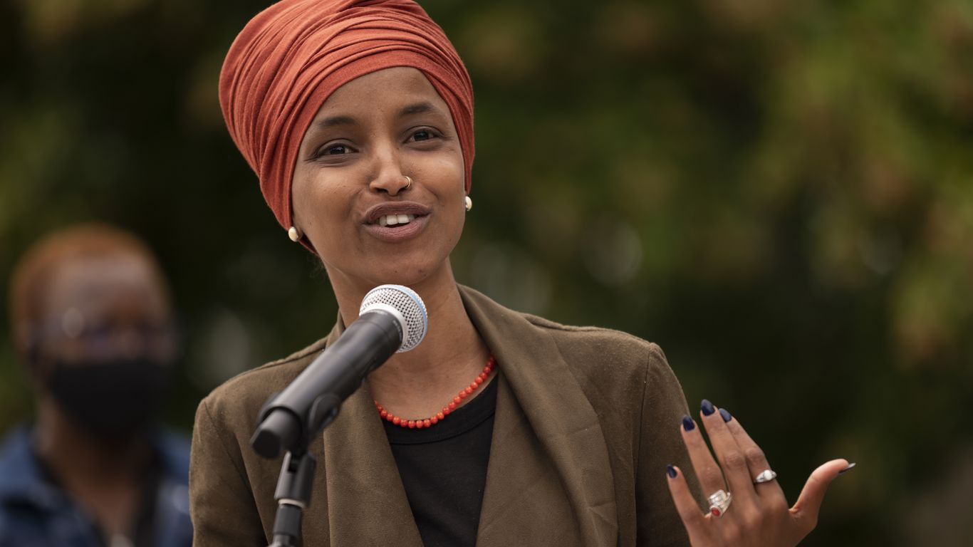 Jewish Democrats clash with Ilhan Omar after comments on U.S. and Israel - Axios