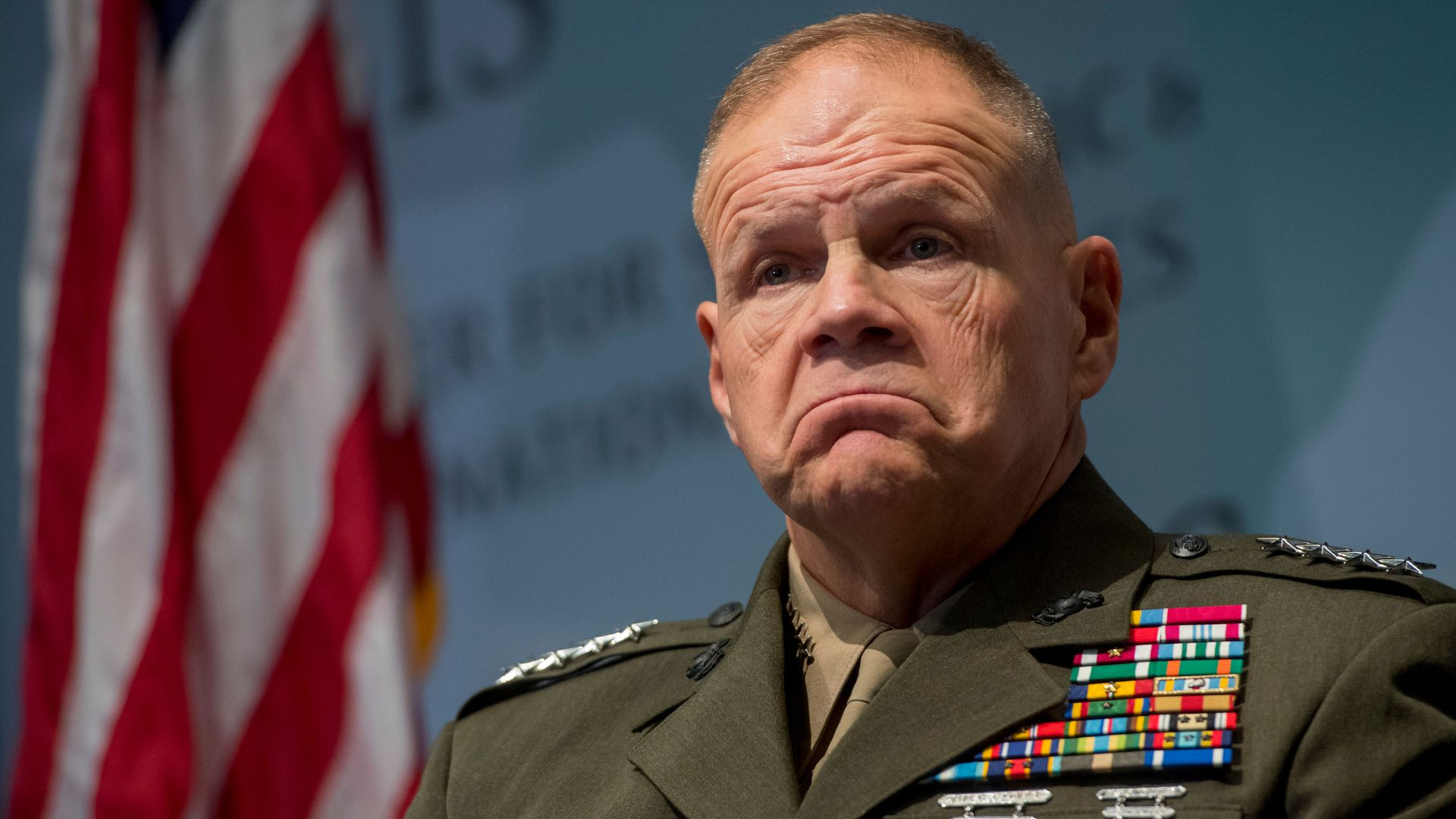"Top general on details of Trump's withdrawal plans: ""I have no idea"""