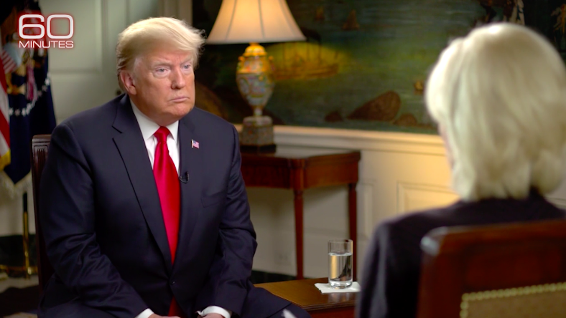 Donald Trump on 60 Minutes.