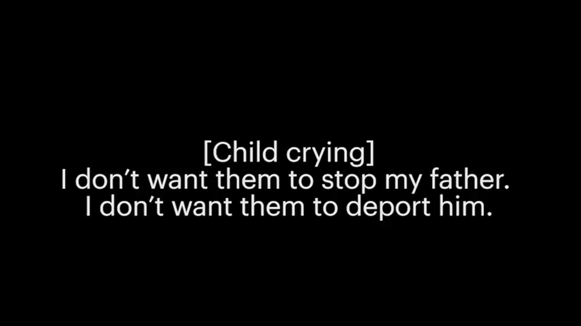 Secret audio: Border Patrol agent jokes while migrant kids wail