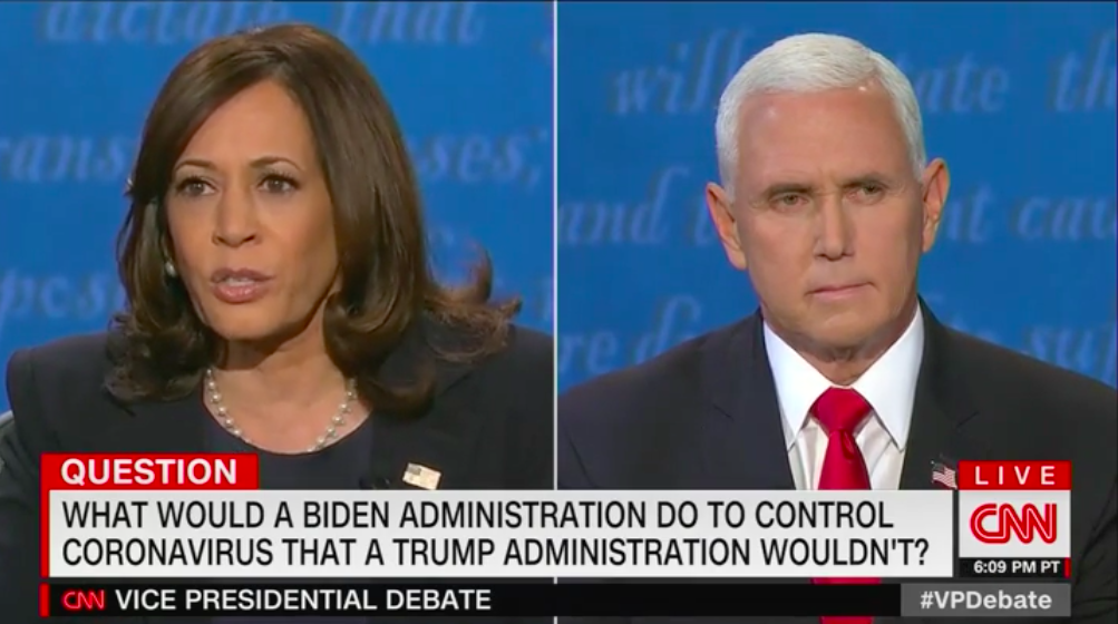 Harris calls Trump's COVID response the greatest presidential failure in U.S. history