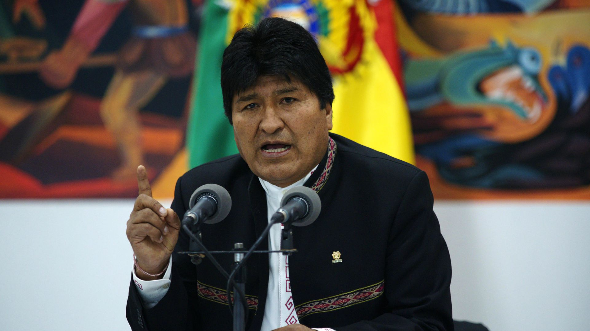 Bolivian President Evo Morales announces resignation amid mass protests