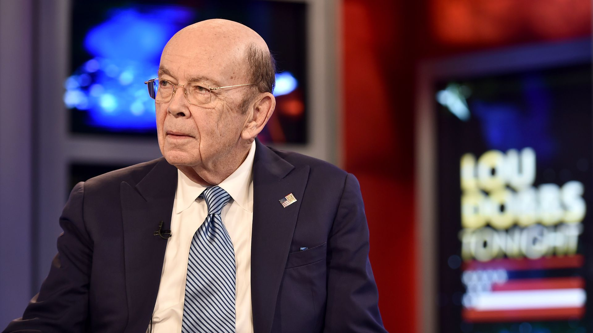 Secretary Of Commerce Wilbur Ross Visits 'Lou Dobbs Tonight