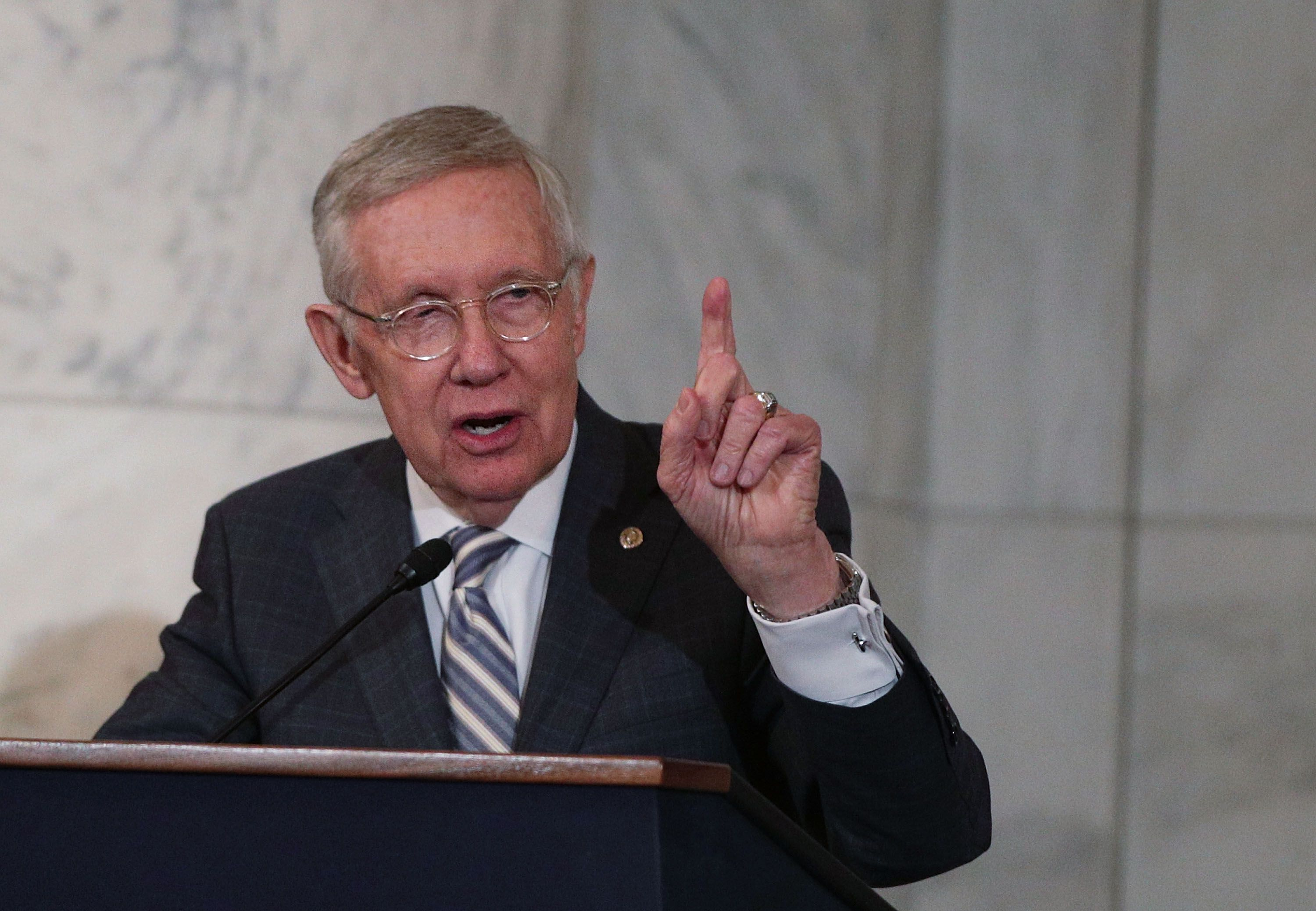 "Harry Reid: ""The American people deserve to be informed"" about UFOs"