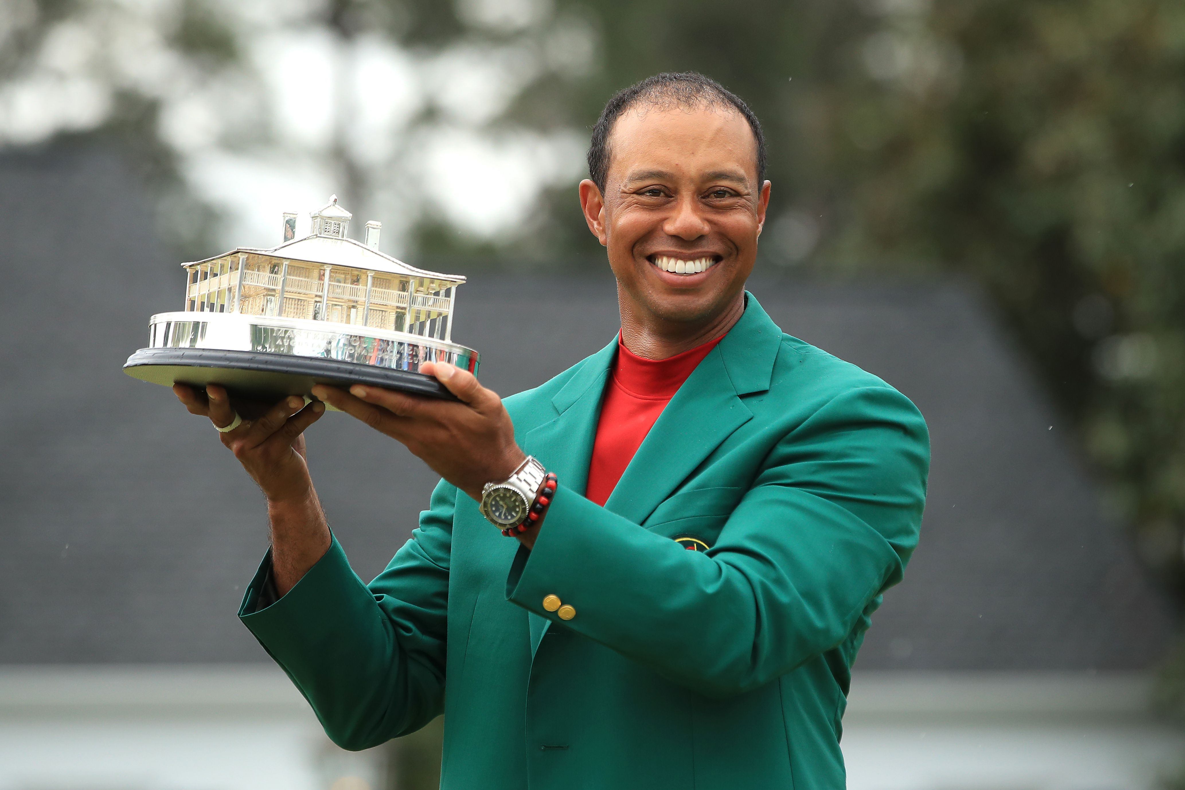 Tiger in the green jacket