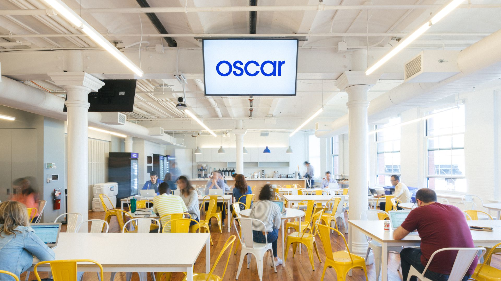 Oscar's New York office.