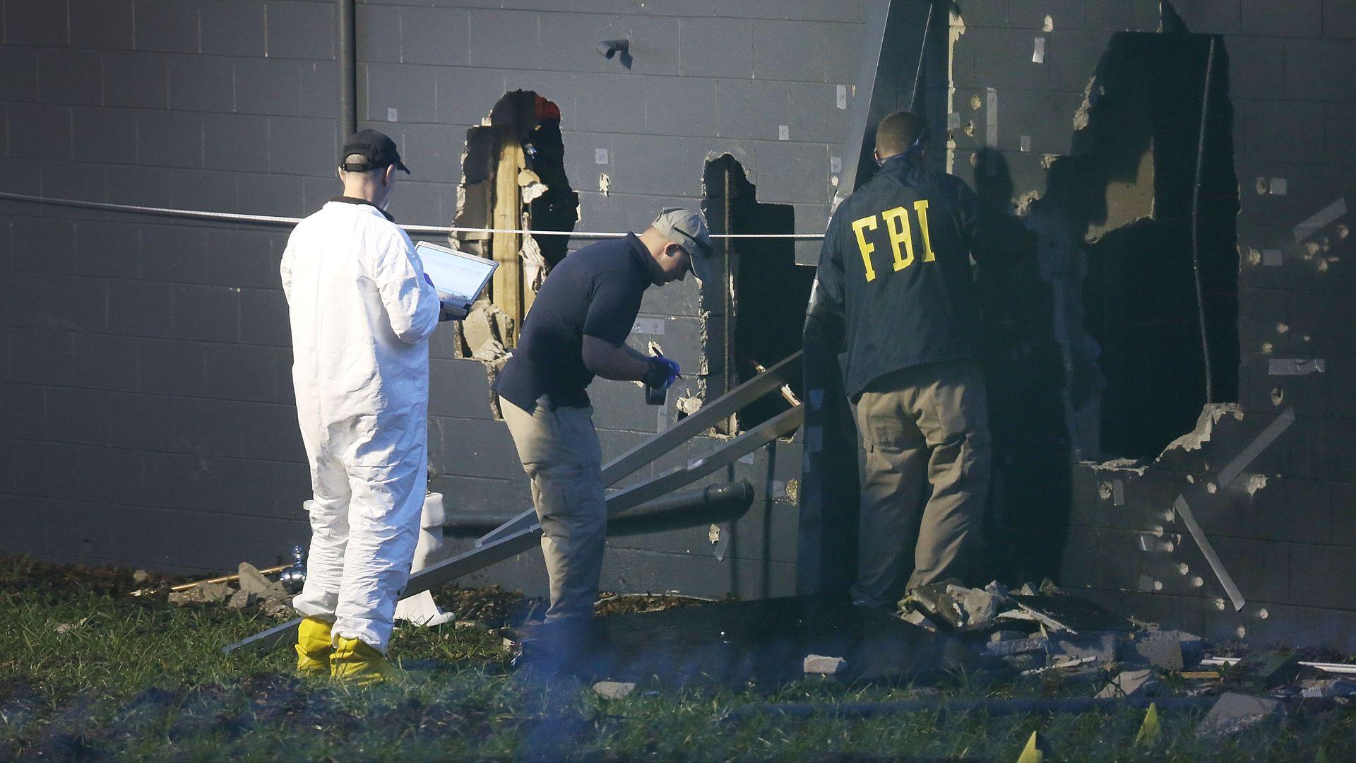 FBI agents investigating Pulse Nightclub