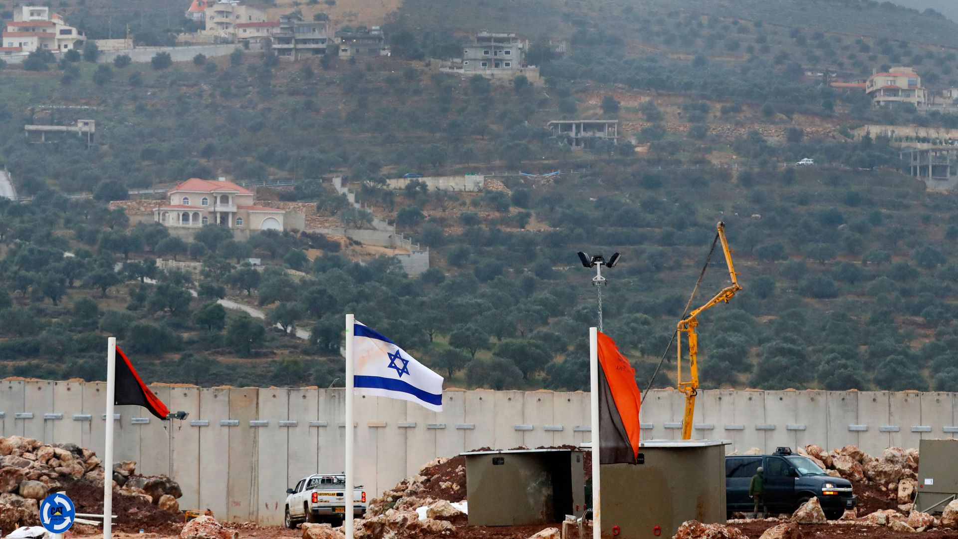 Israel border with Lebanon