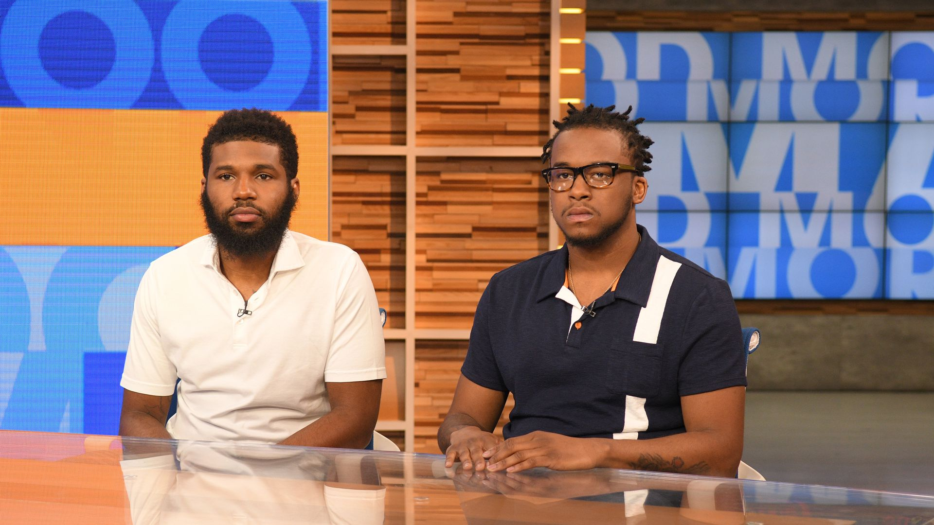 Rashon Nelson and Donte Robinson on Good Morning America