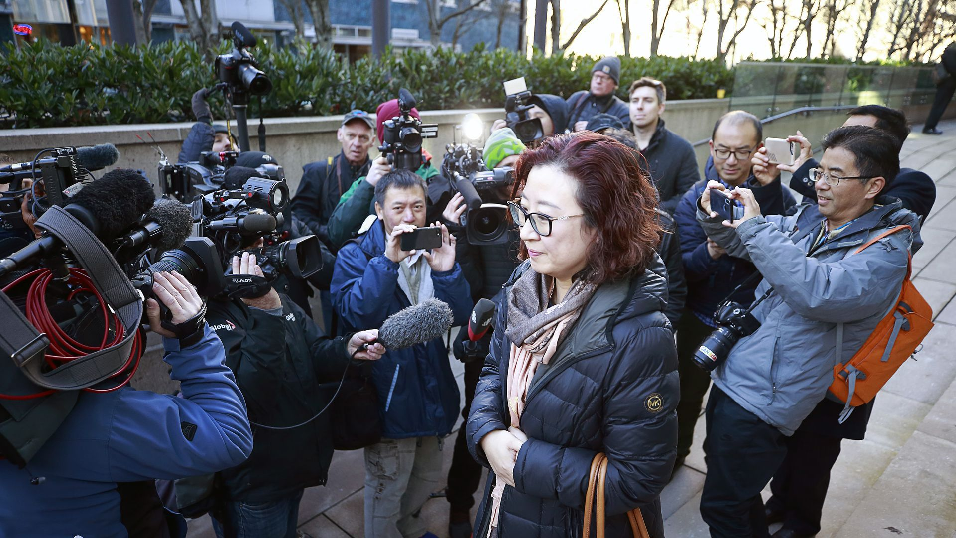 Huawei Technologies Chief Financial Officer Meng Wanzhou Attends Bail Hearing After Arrest In Vancouver