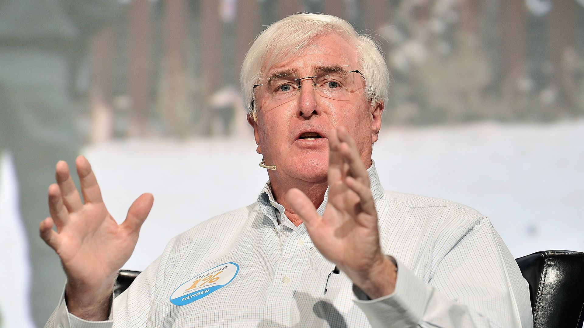 SV Angel Co-Founder and Managing Partner Ron Conway speaks onstage