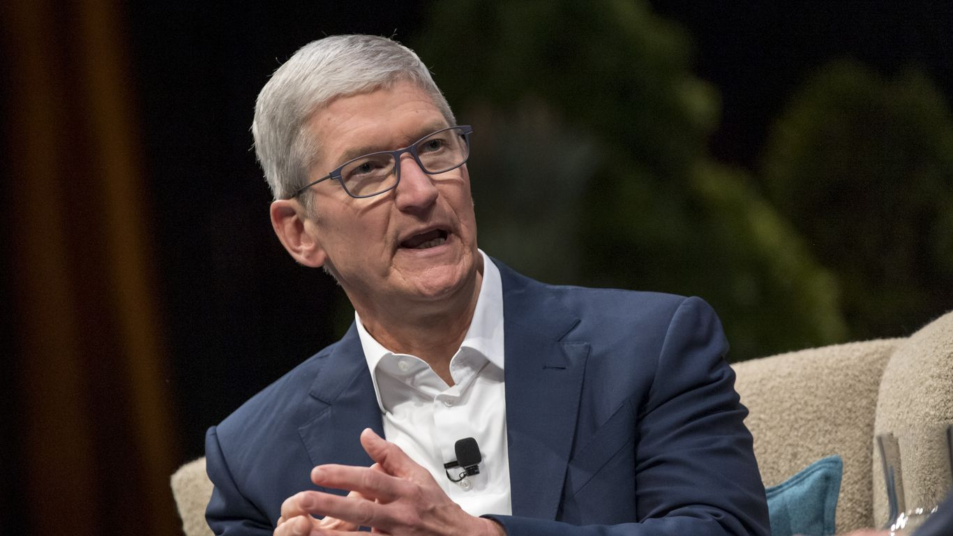 "Exclusive: Apple's Tim Cook says voting ""ought to be easier than ever"""