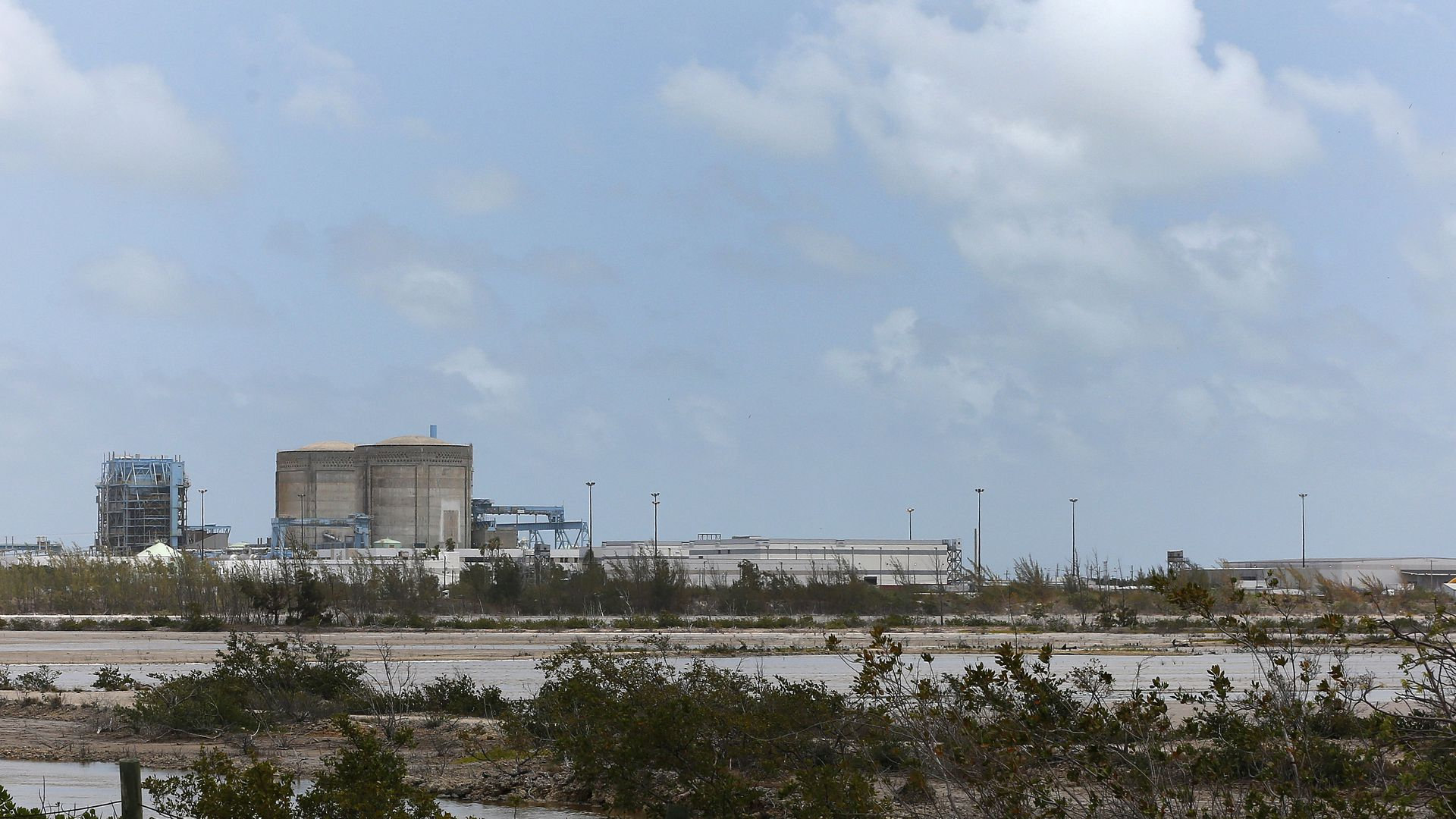 A nuclear power plant in Florida.