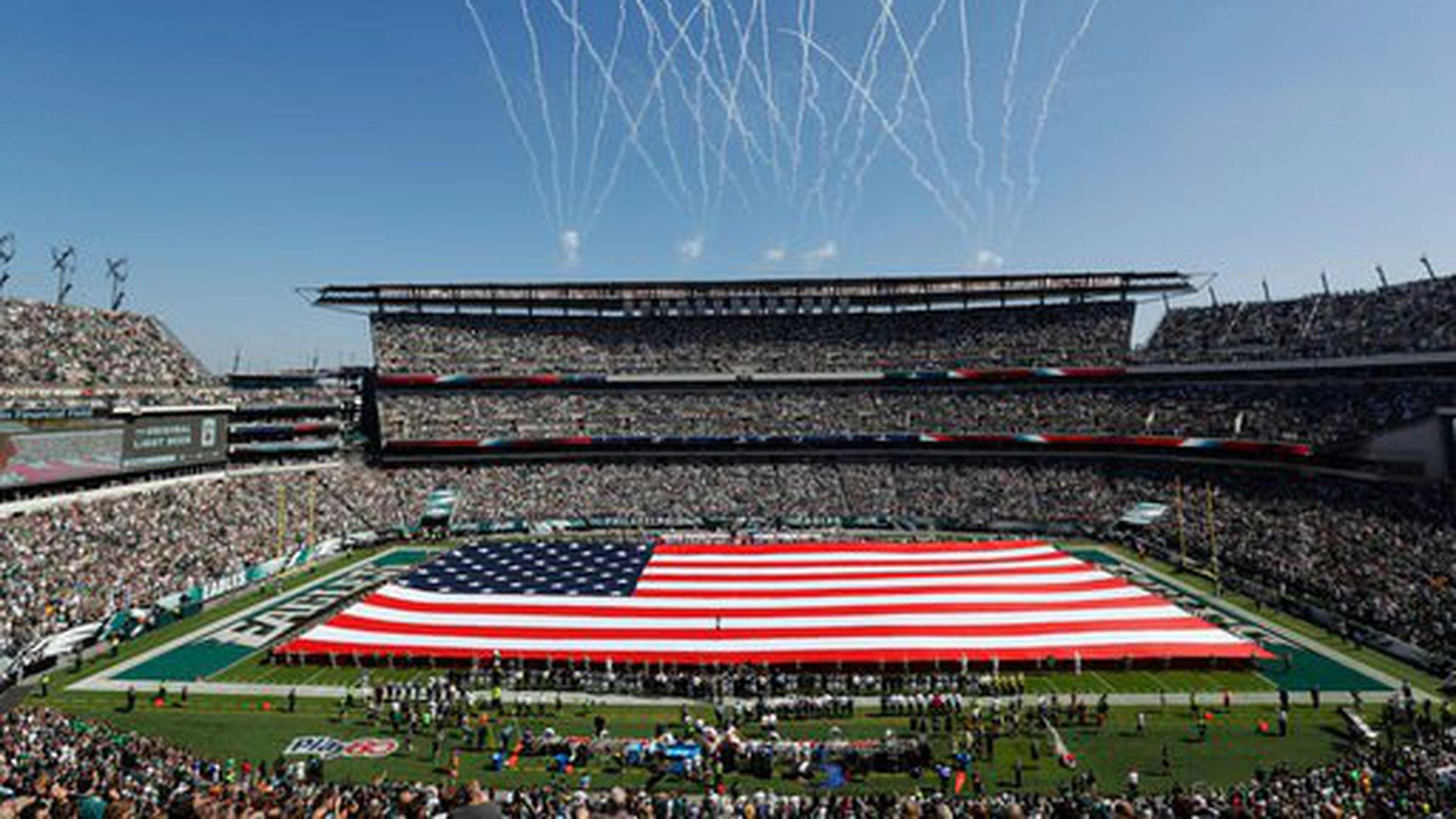 The History Of Singing The National Anthem Before Nfl Games Axios