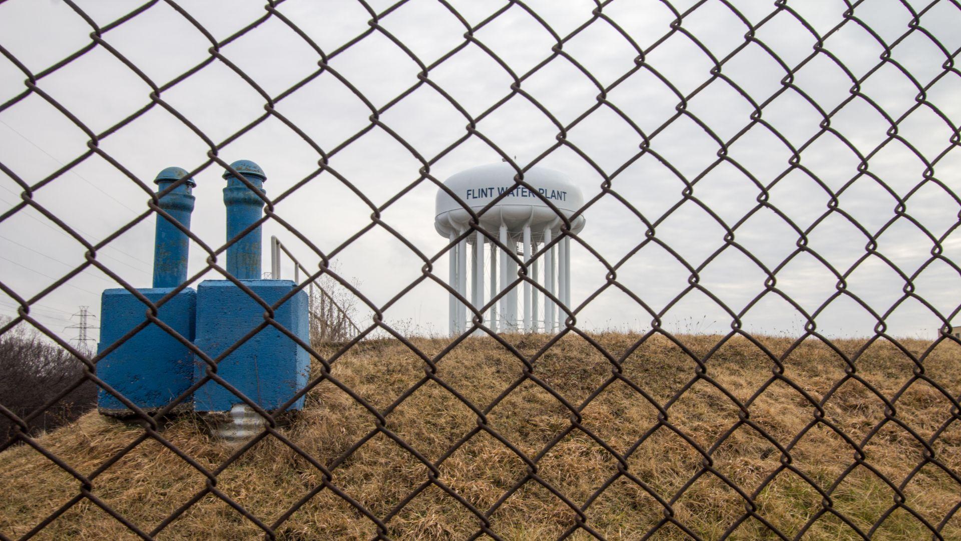 Flint, Michigan water plant