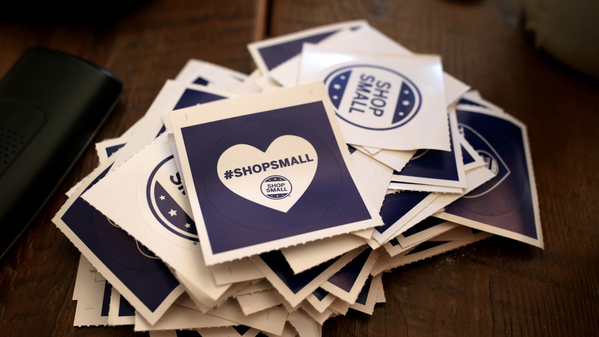 #ShopSmall stickers