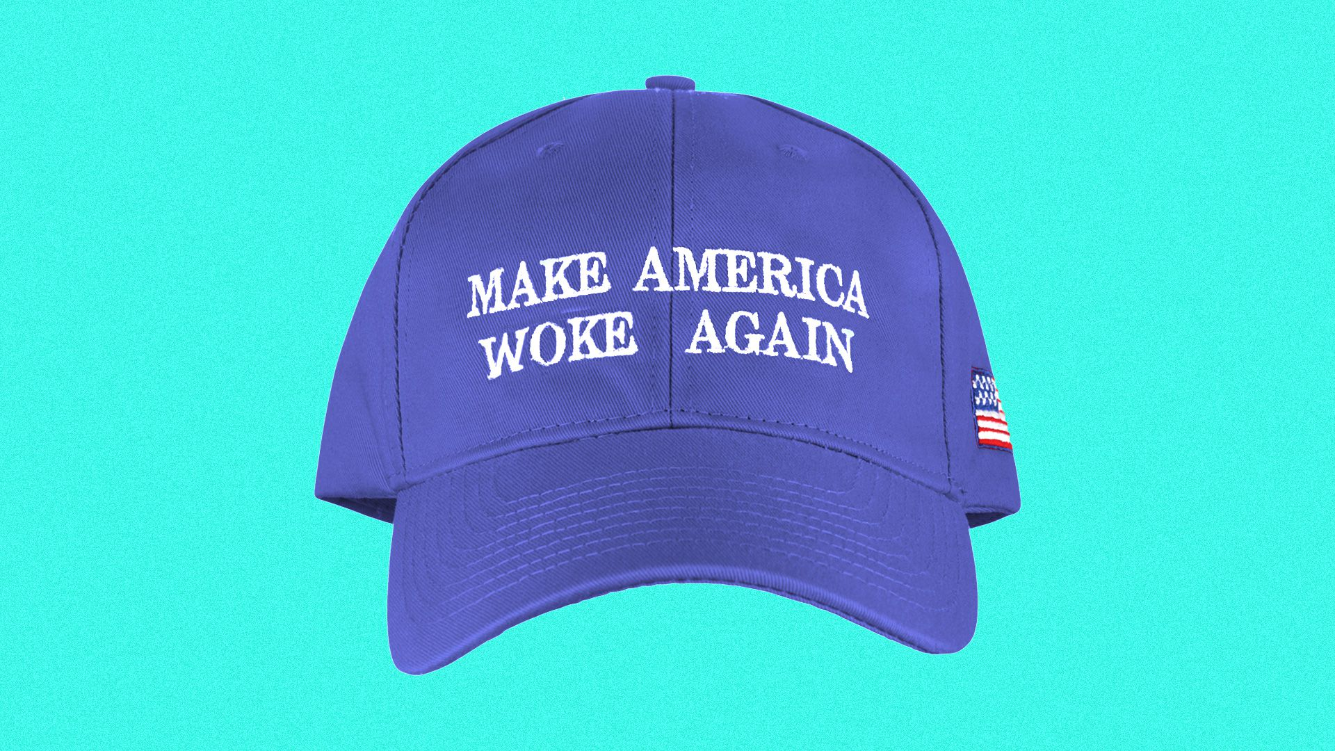 A hat reading 'Make America Woke Again'