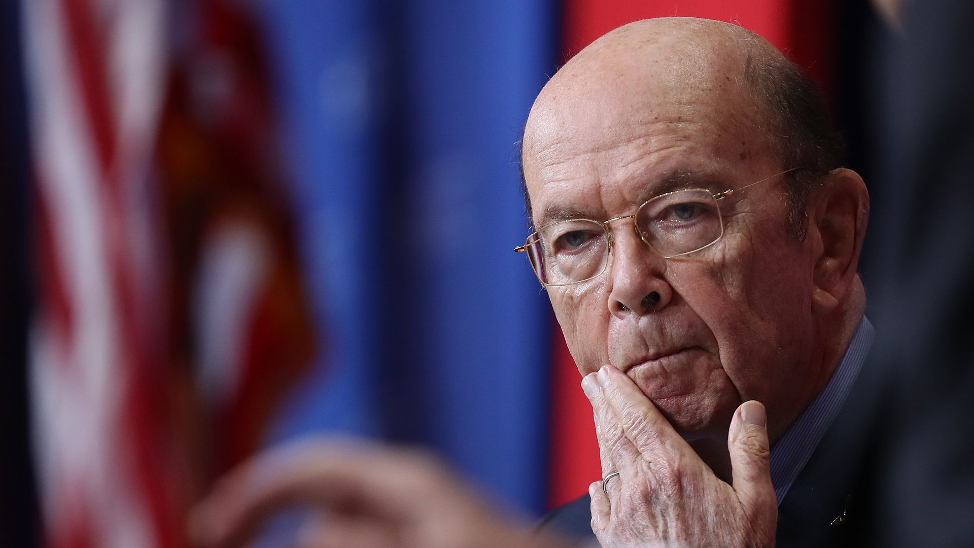 Secretary of Commerce Wilbur Ross. Photo: Win McNamee/Getty Images