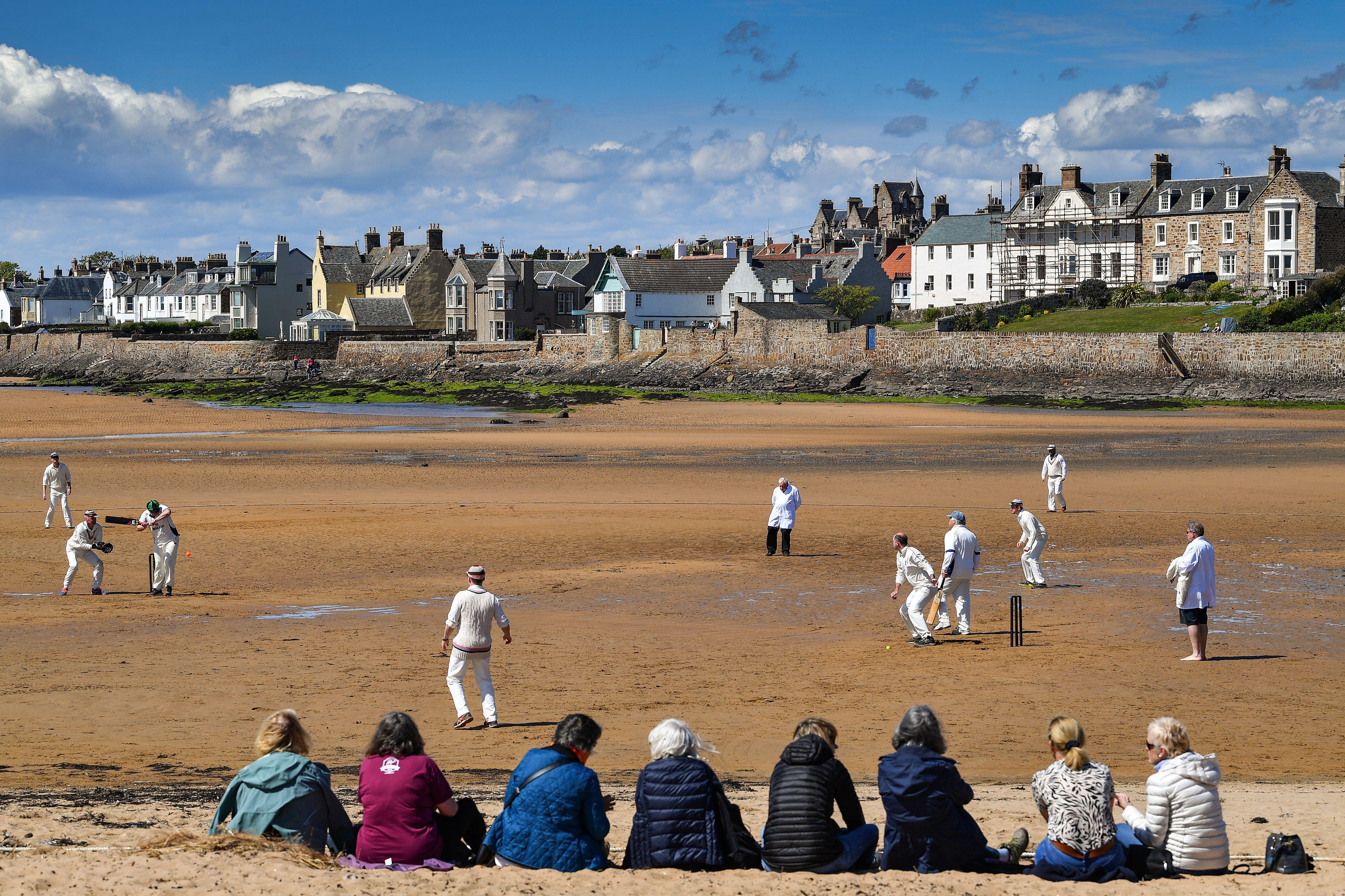 The Ship Inn cricket pitch