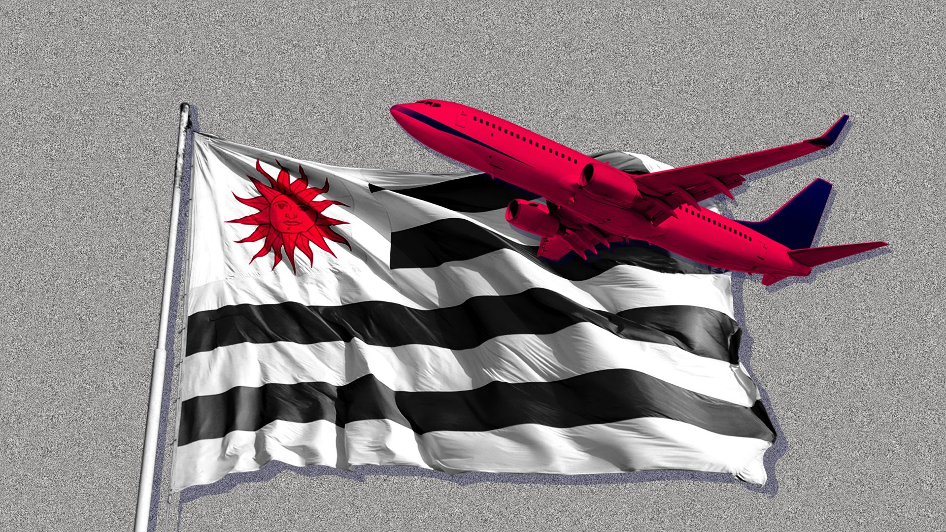 Uruguay plane