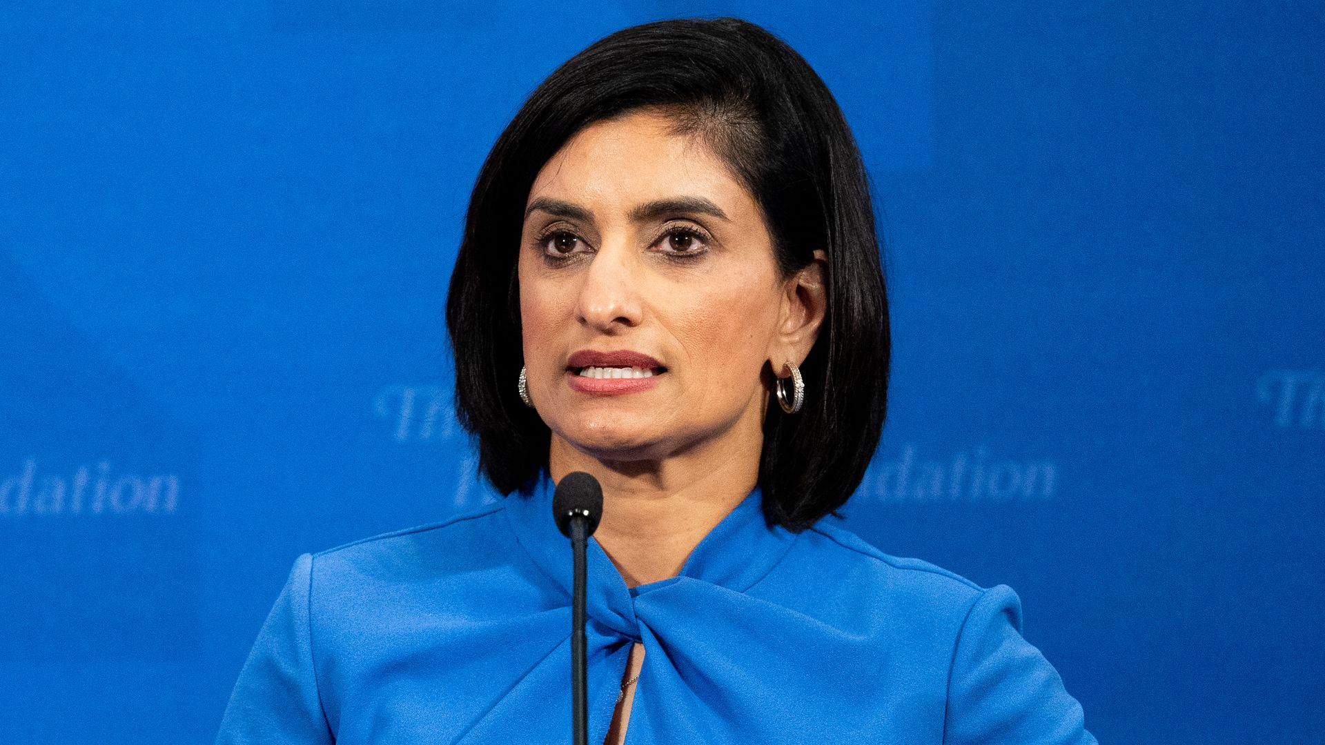 Seema Verma, Administrator, Centers for Medicare & Medicaid Services, U.S. Department of Health and Human Services