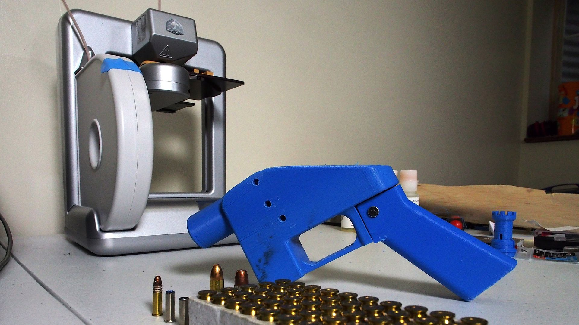 Release of blueprints for 3D-printed guns halted by federal judge