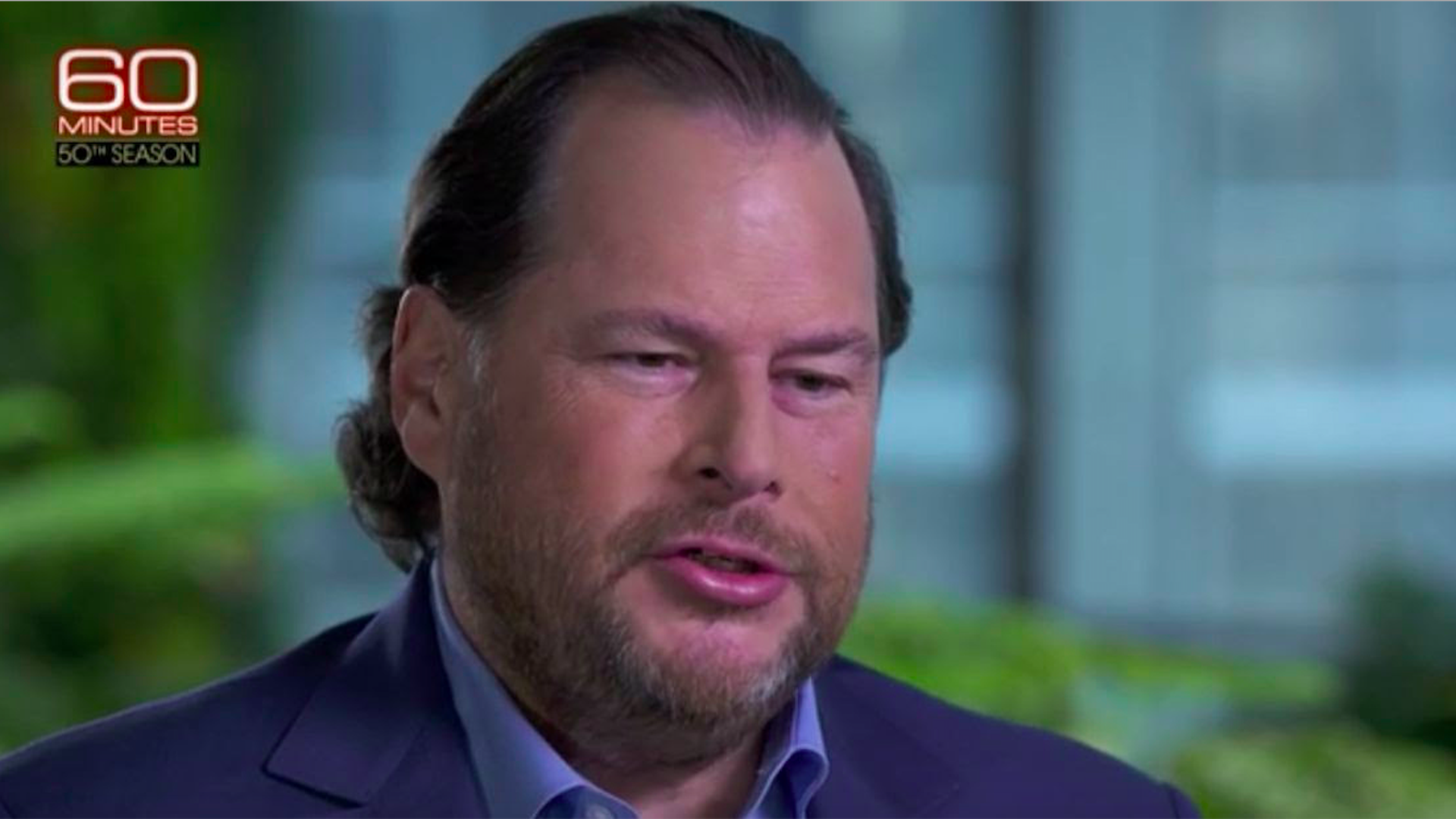 Marc Benioff on 60 Minutes
