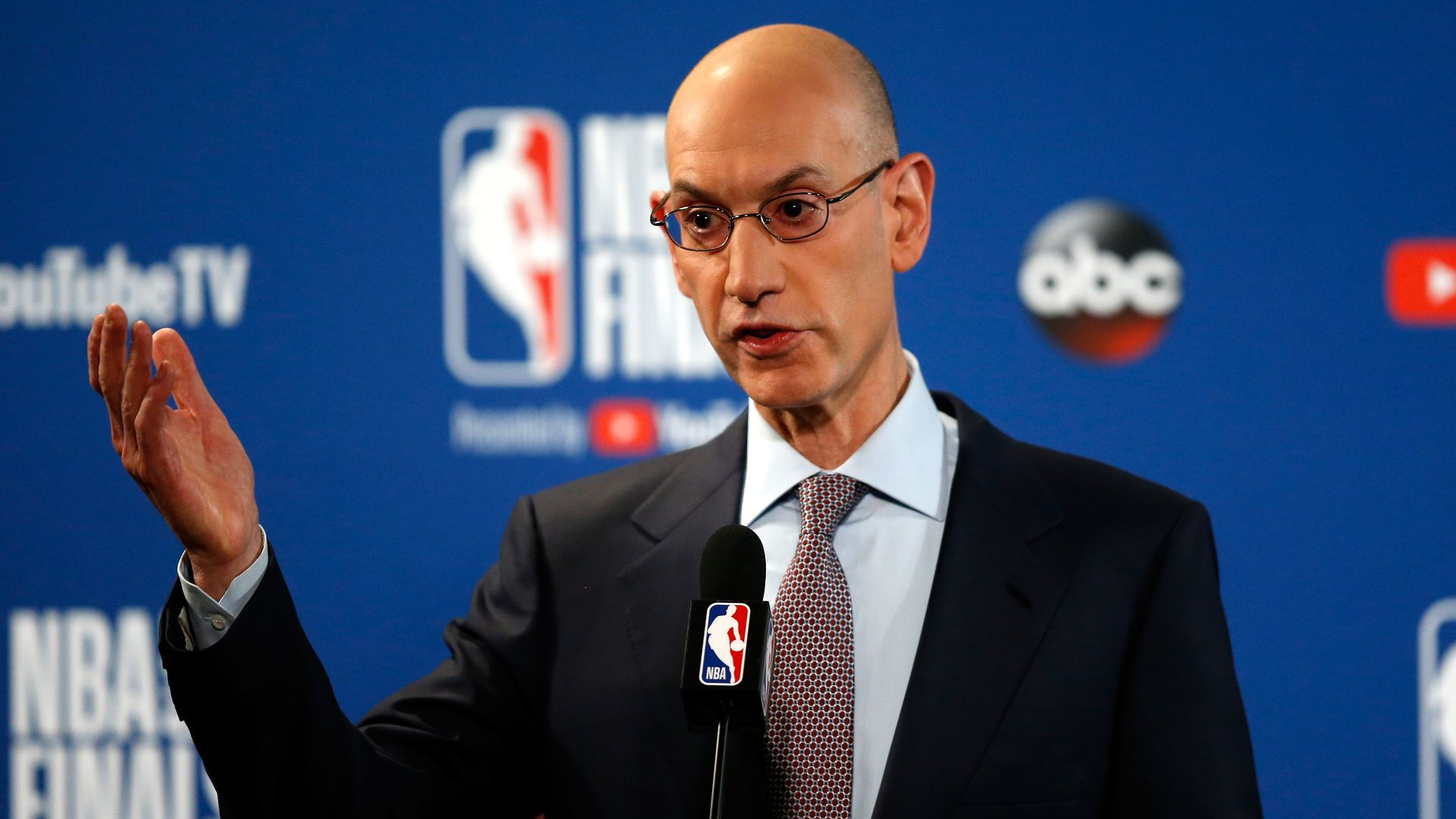 NBA Commissioner Adam Silver.