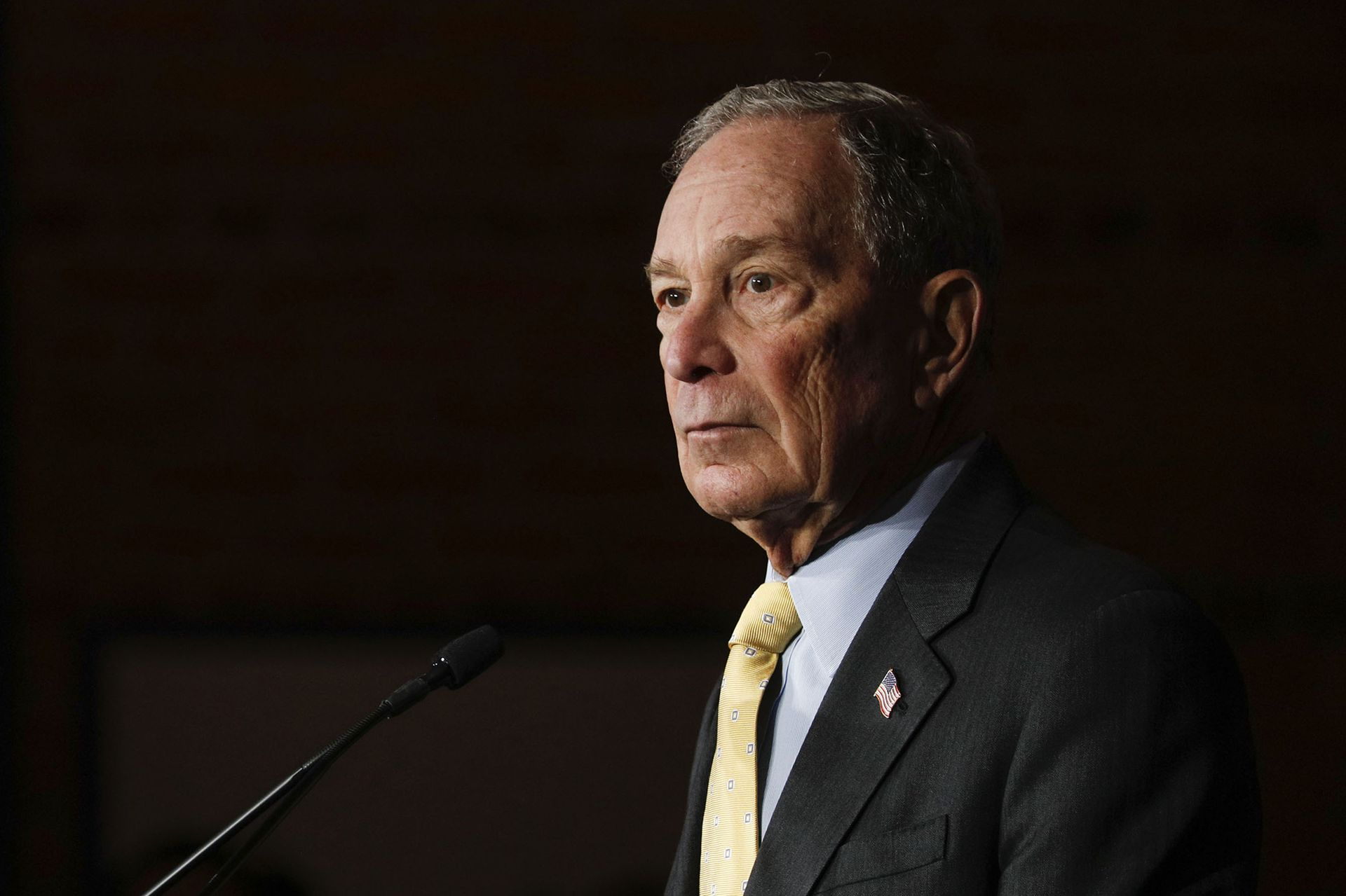 Bloomberg's big bet on the power of money