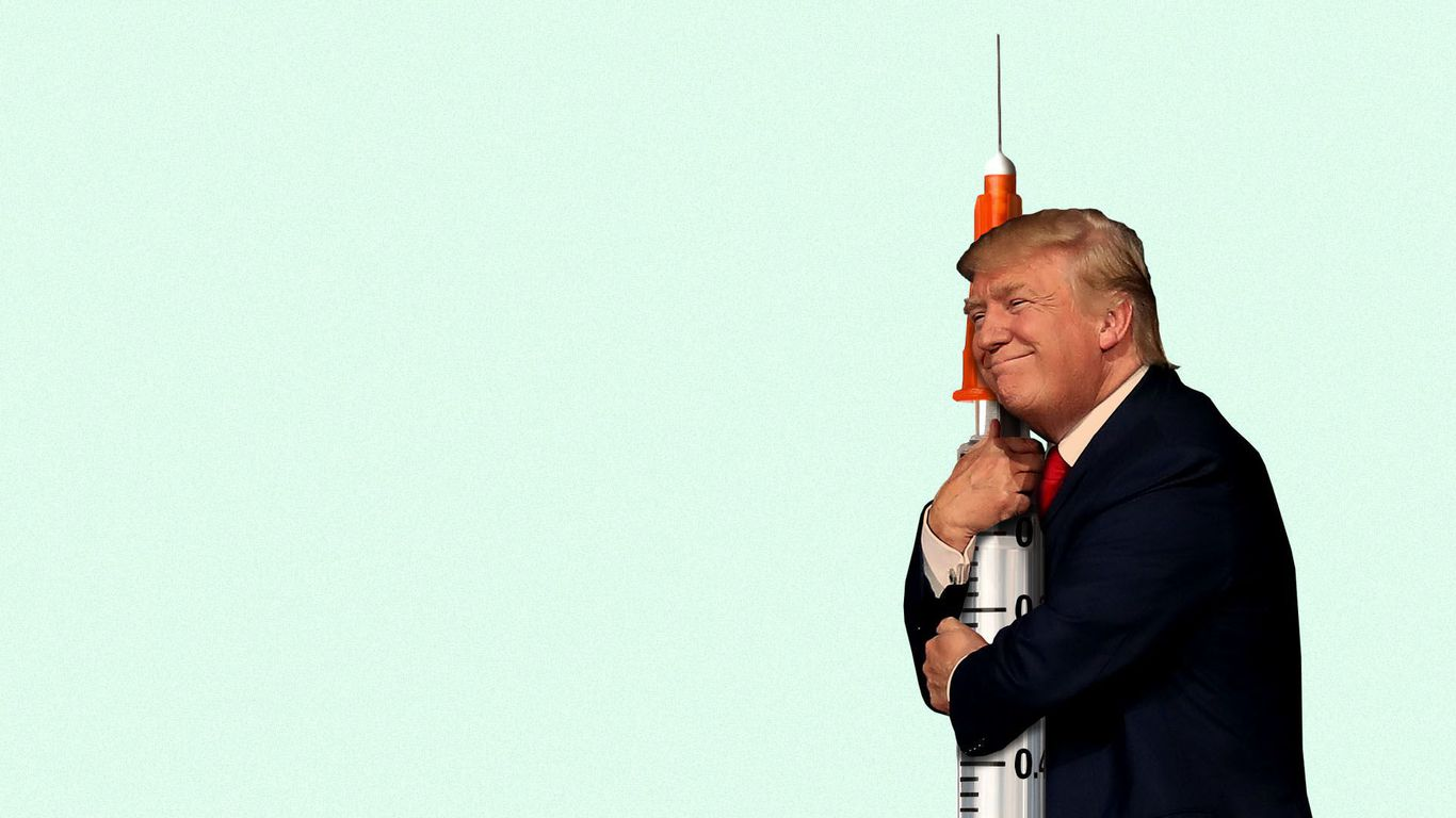 Trump plans to aggressively promote vaccine and therapeutic news at coronavirus briefings thumbnail