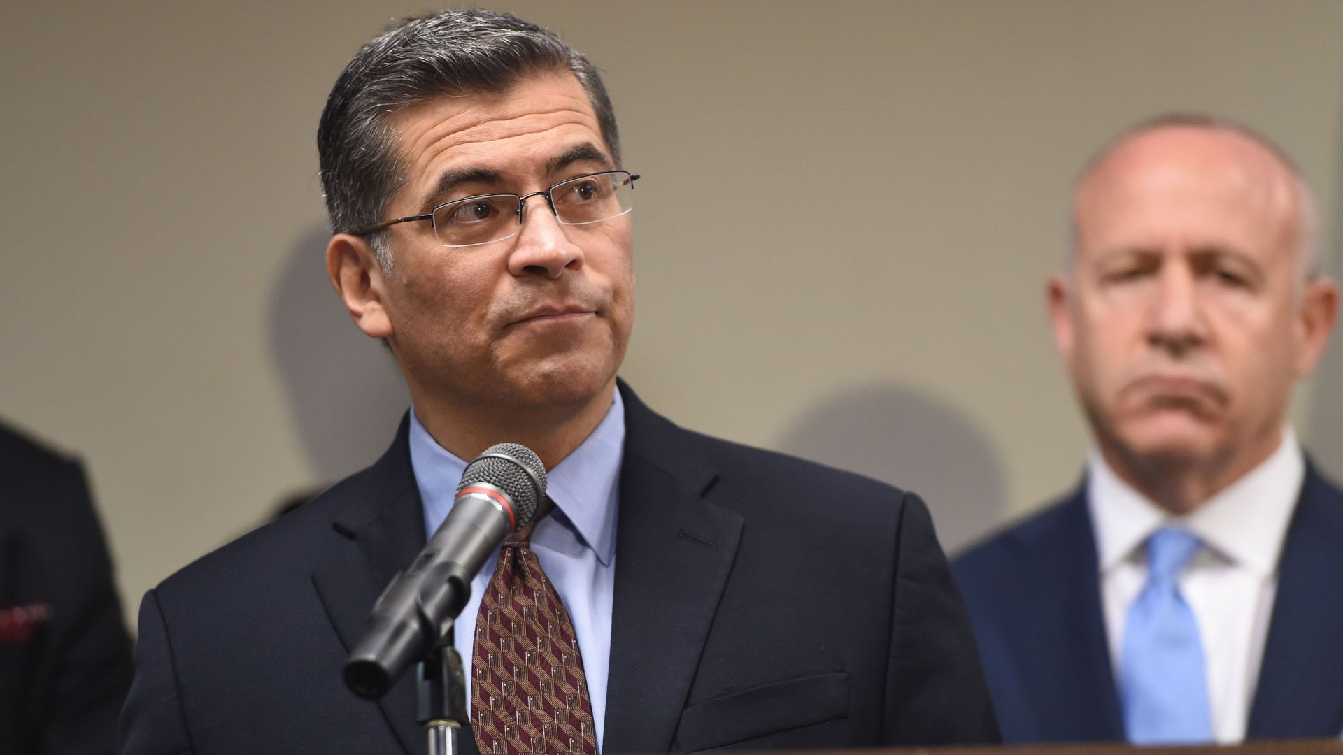 CA Attorney General Xavier Becerra