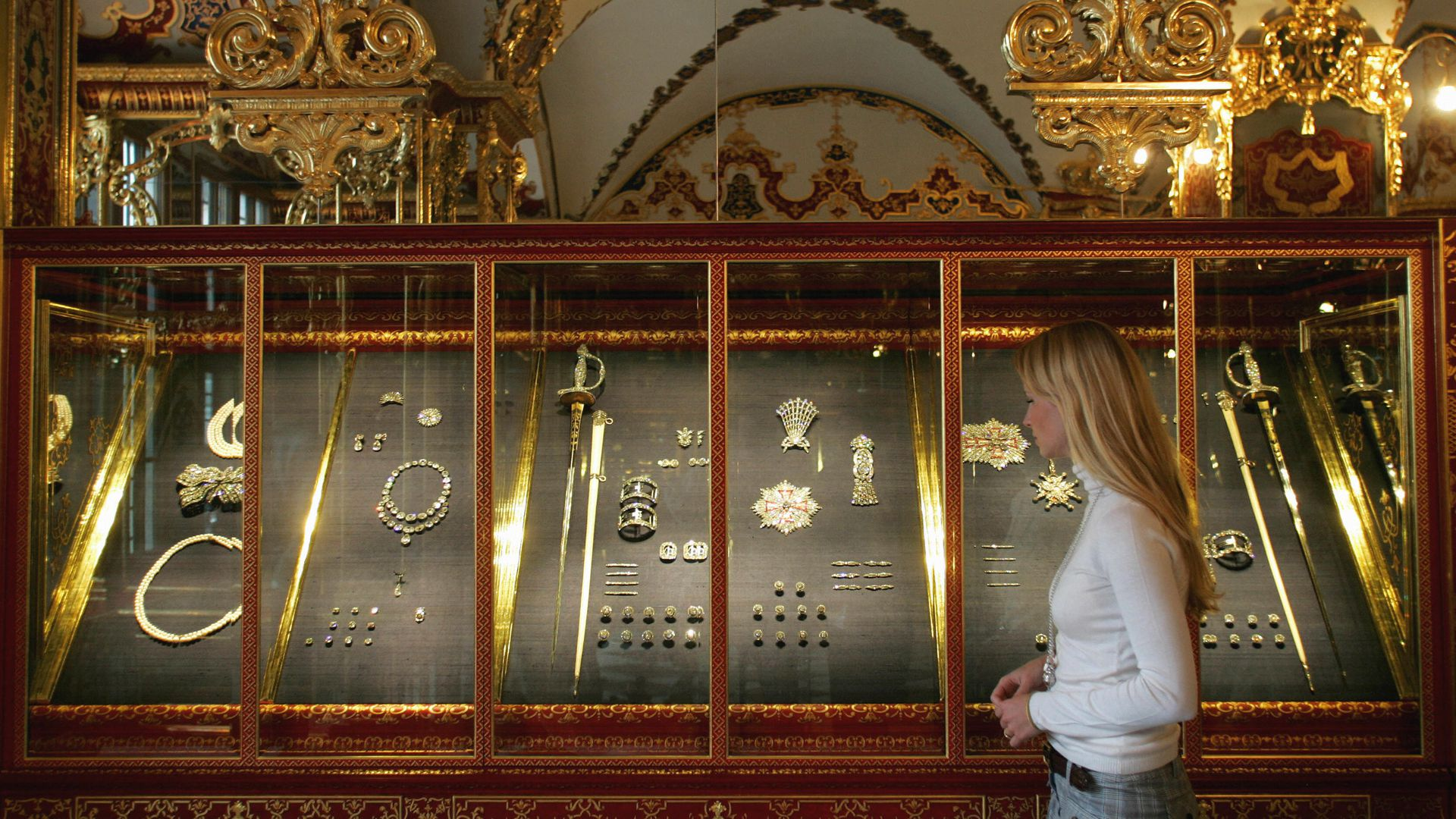 Jewelry Room of the Green Vault