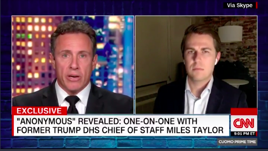 """You lied to us"": CNN anchor confronts ""anonymous"" author for previous denial thumbnail"