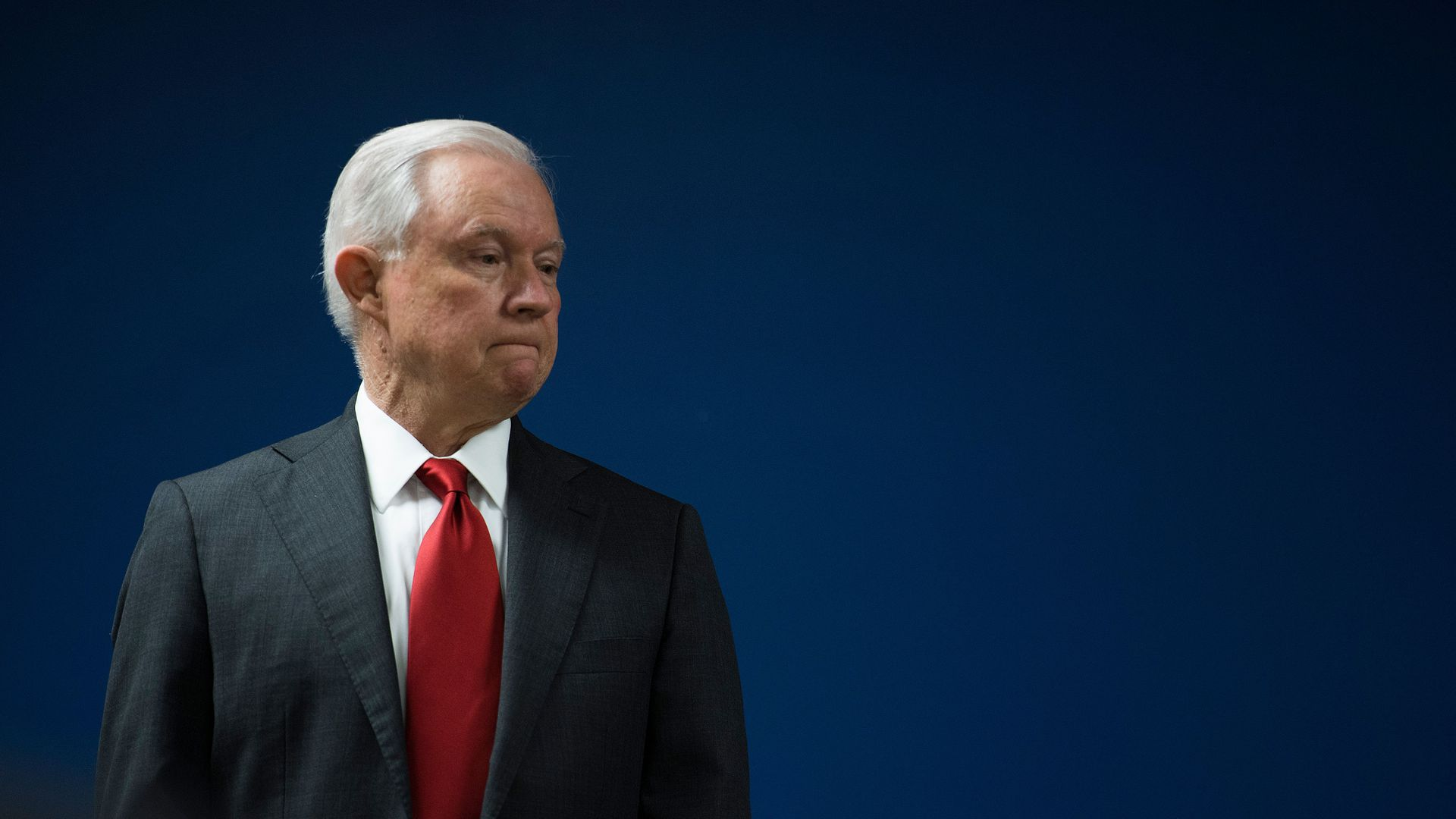 Jeff Sessions standing