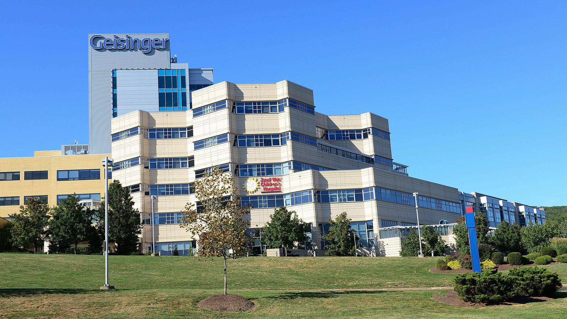Geisinger Medical Center, a hospital, in Pennsylvania.