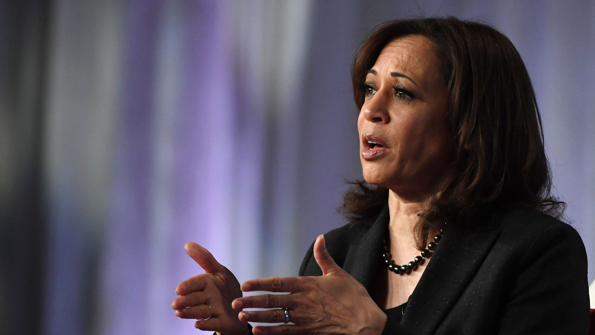 2020 Democratic candidate, Sen. Kamala Harris.