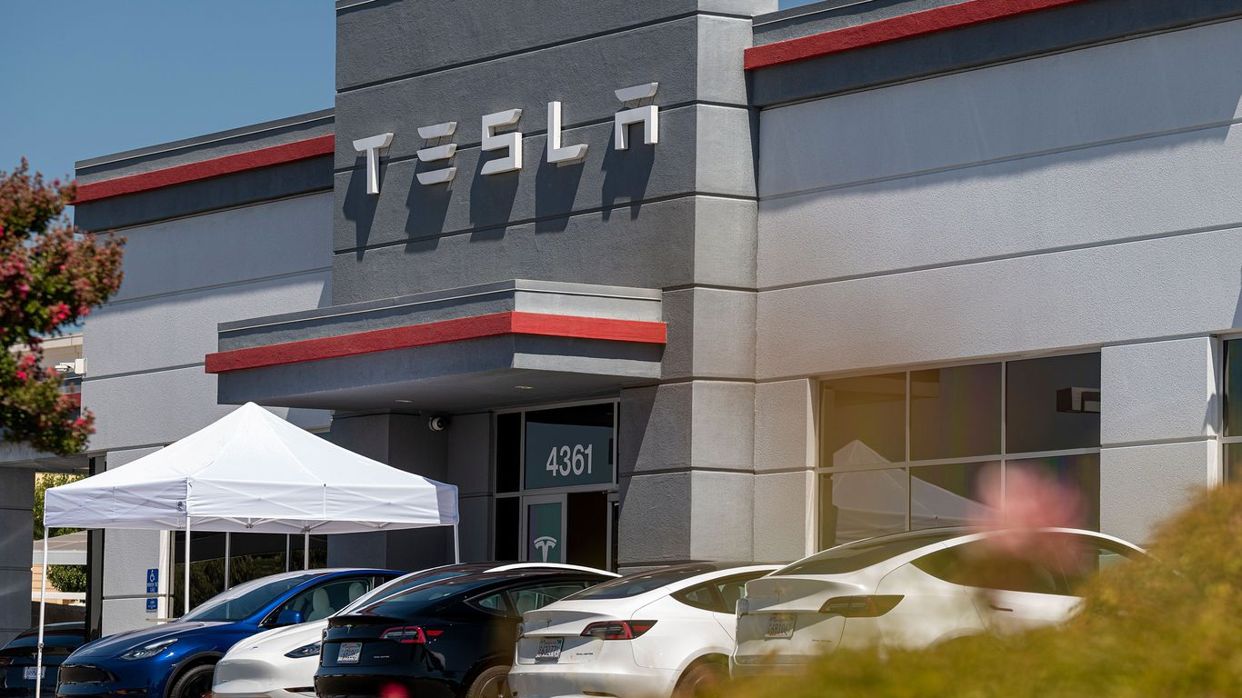 U.S. auto regulator probes Tesla crash that killed man changing tire