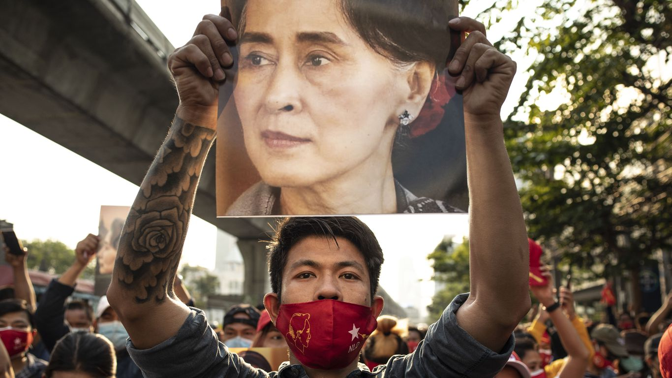 Aung San Suu Kyi charged after Myanmar coup thumbnail