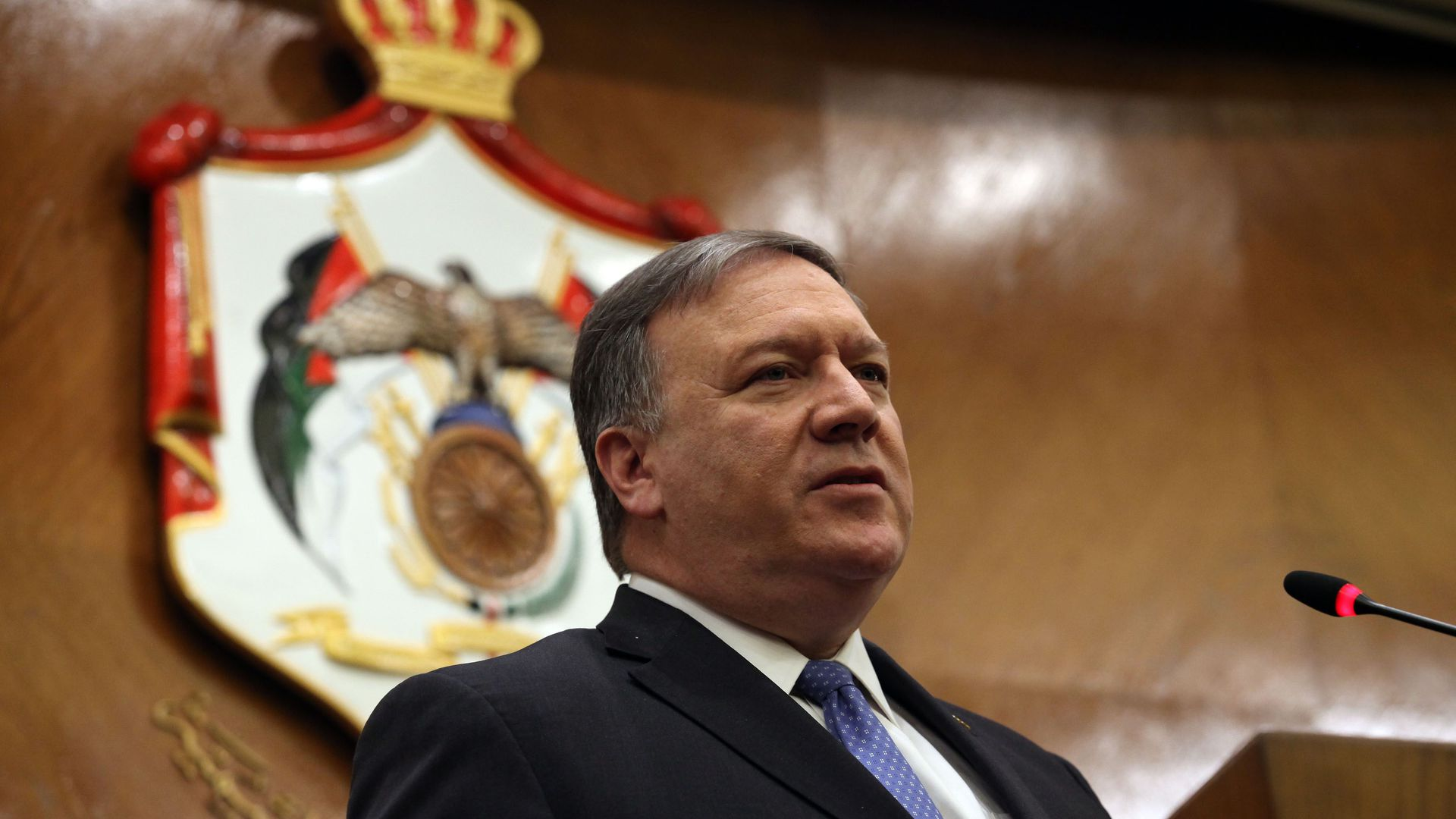 Mike Pompeo in Jordan