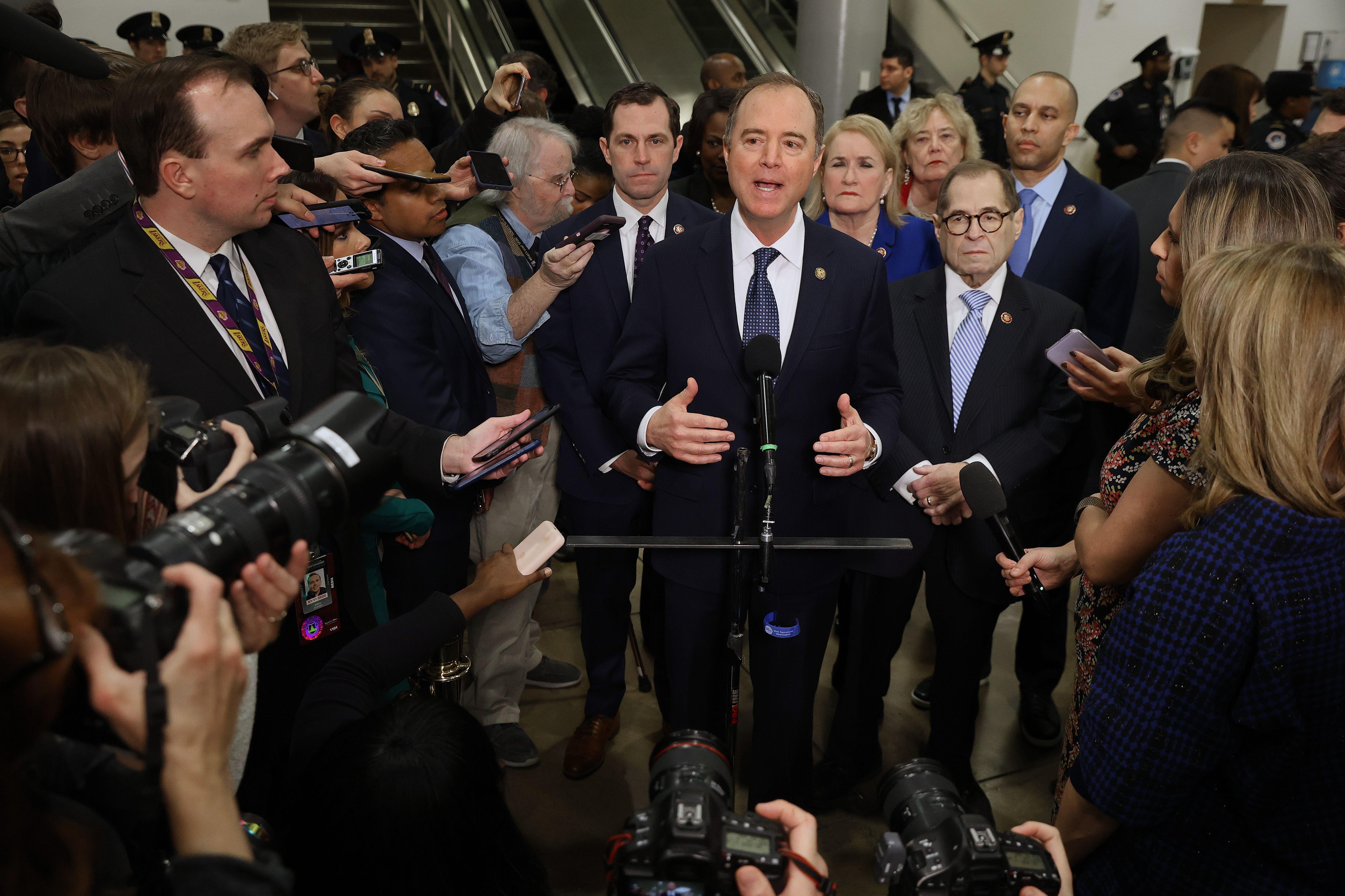 "Republicans criticize lack of ""new"" impeachment information while blocking Democratic subpoenas"