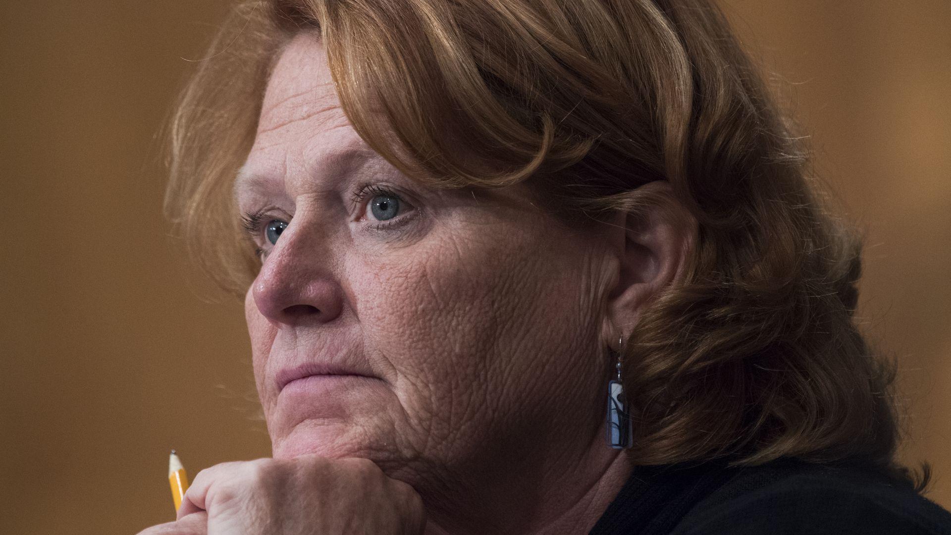 Senator Heidi Heitkamp.