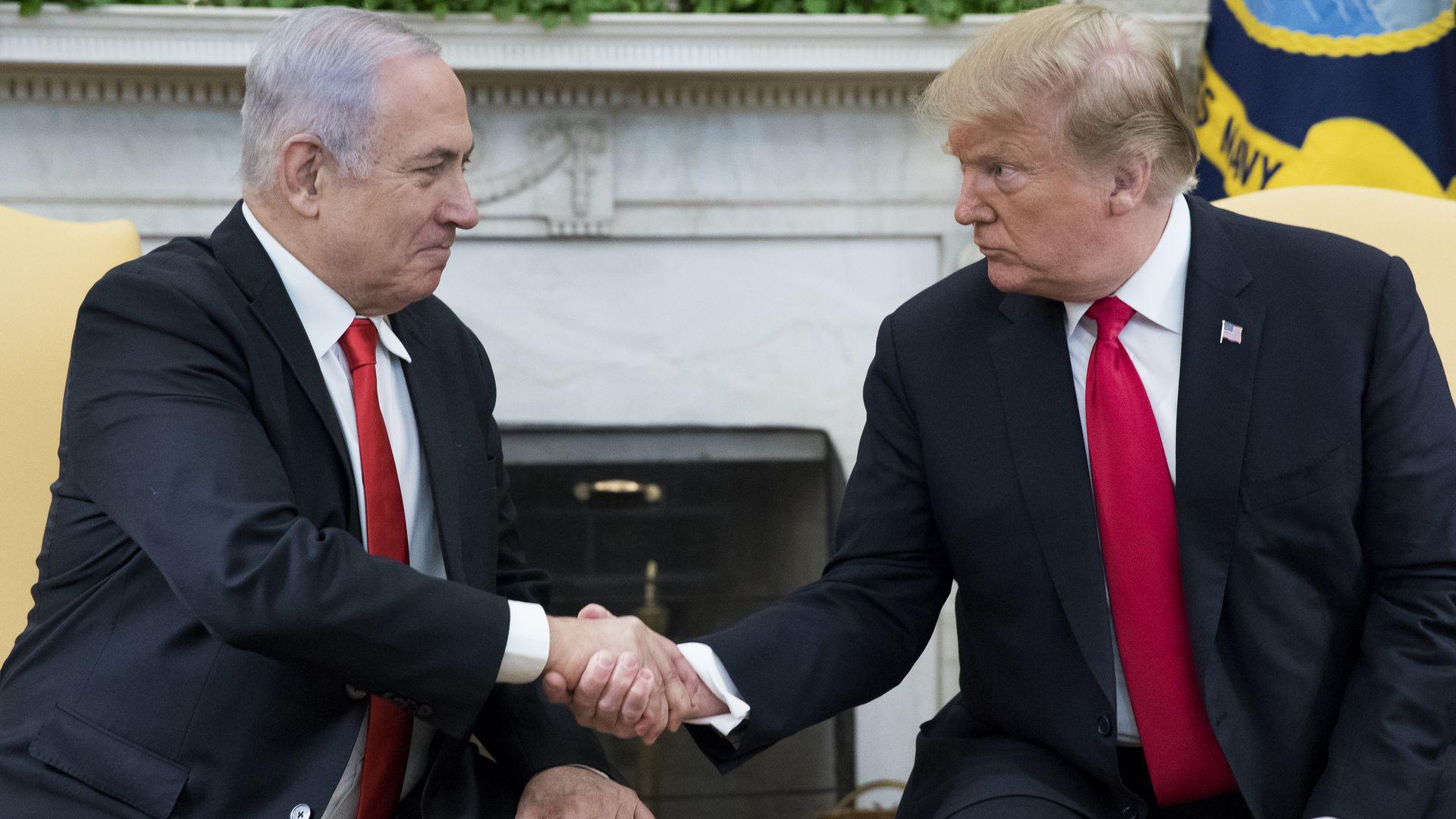 Israel's Netanyahu unveils 'Trump Heights' settlement in the Golan