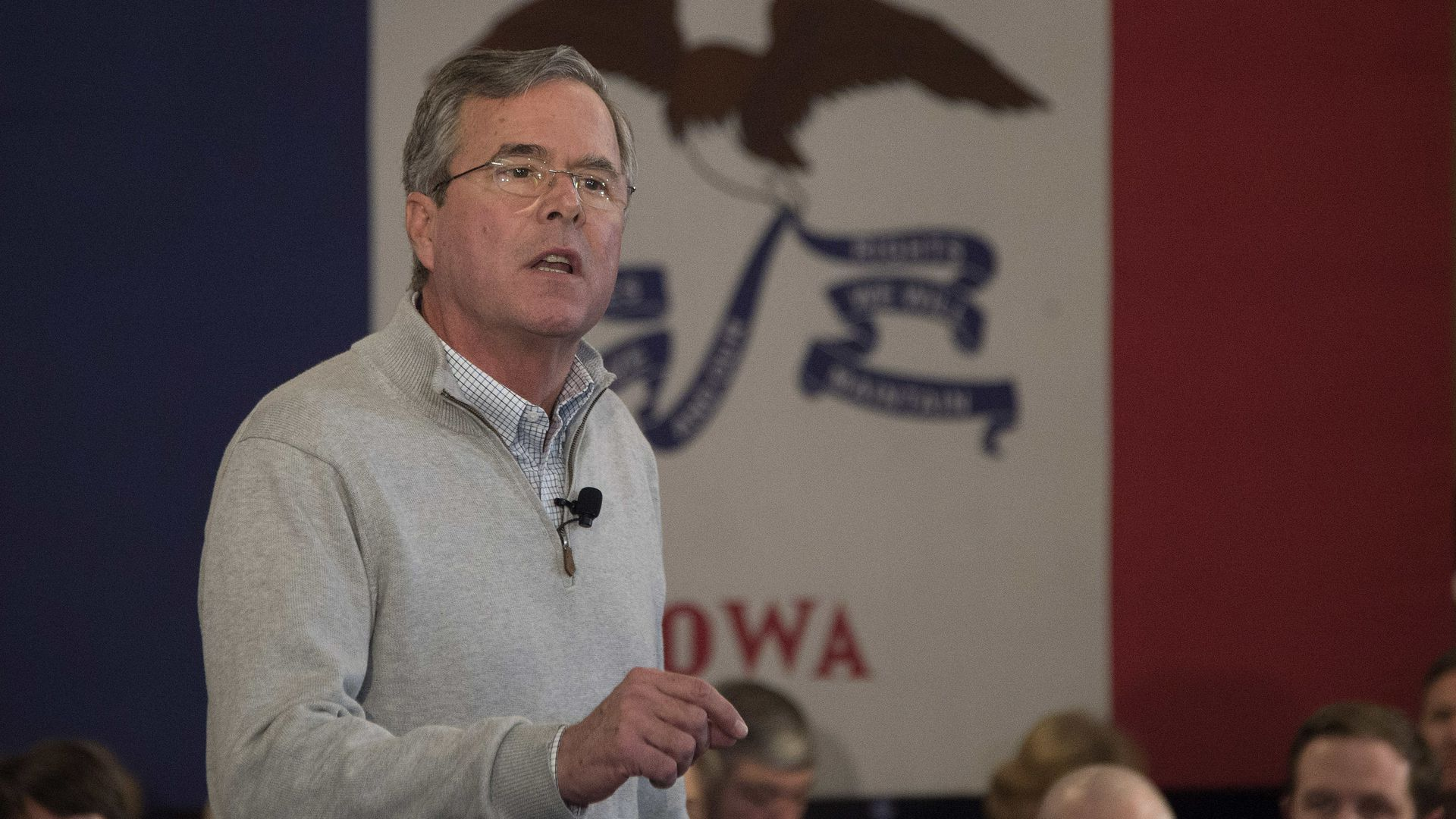 The FEC fined the Jeb Bush super PAC for soliciting a contribution from a foreign national.