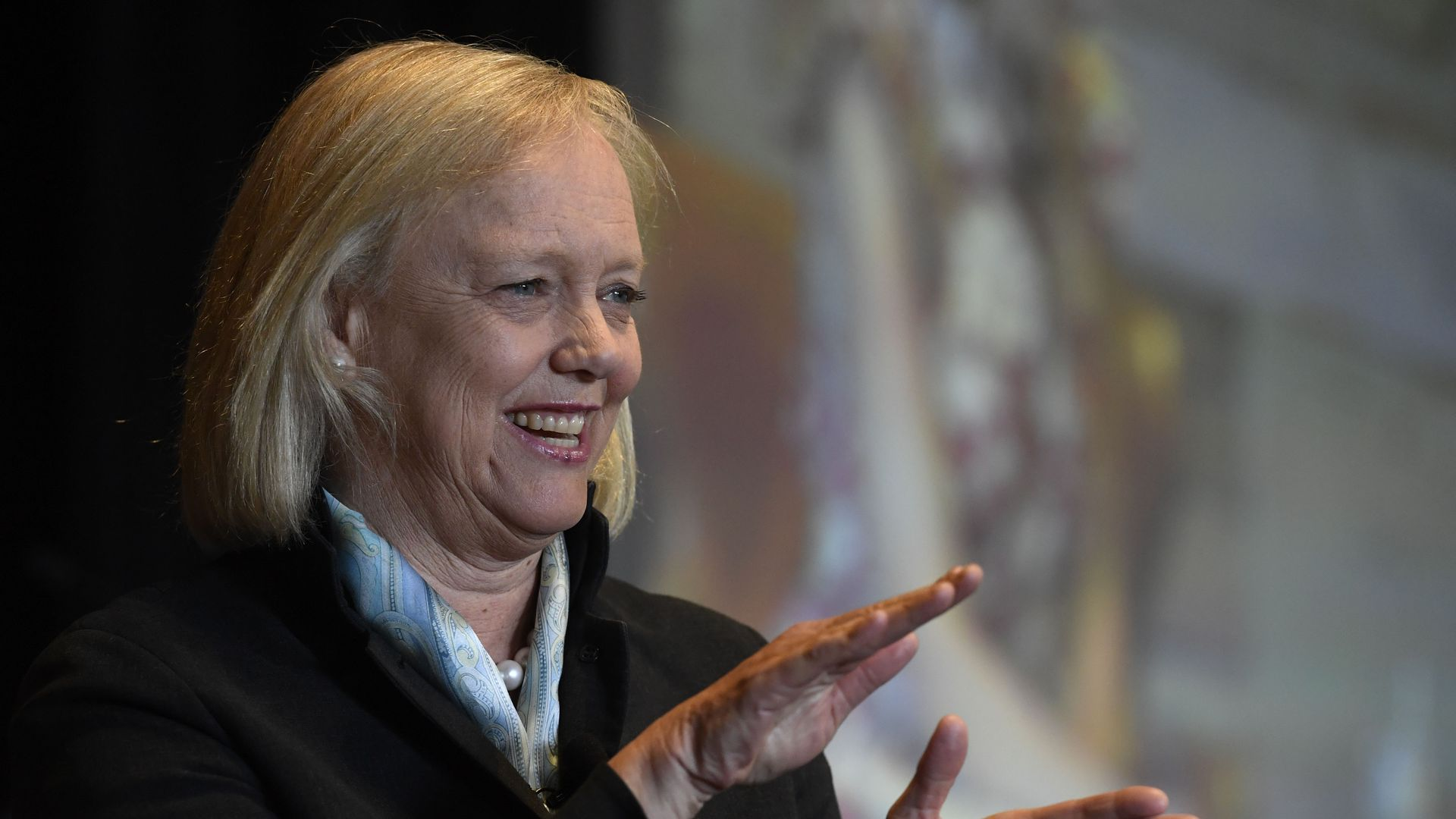 Former HP CEO Meg Whitman