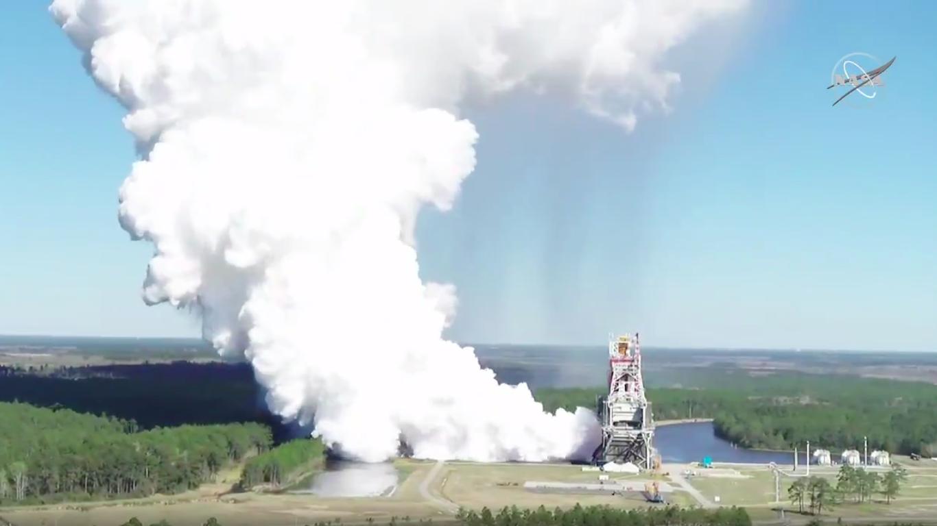 NASA completes major test of its next huge rocket