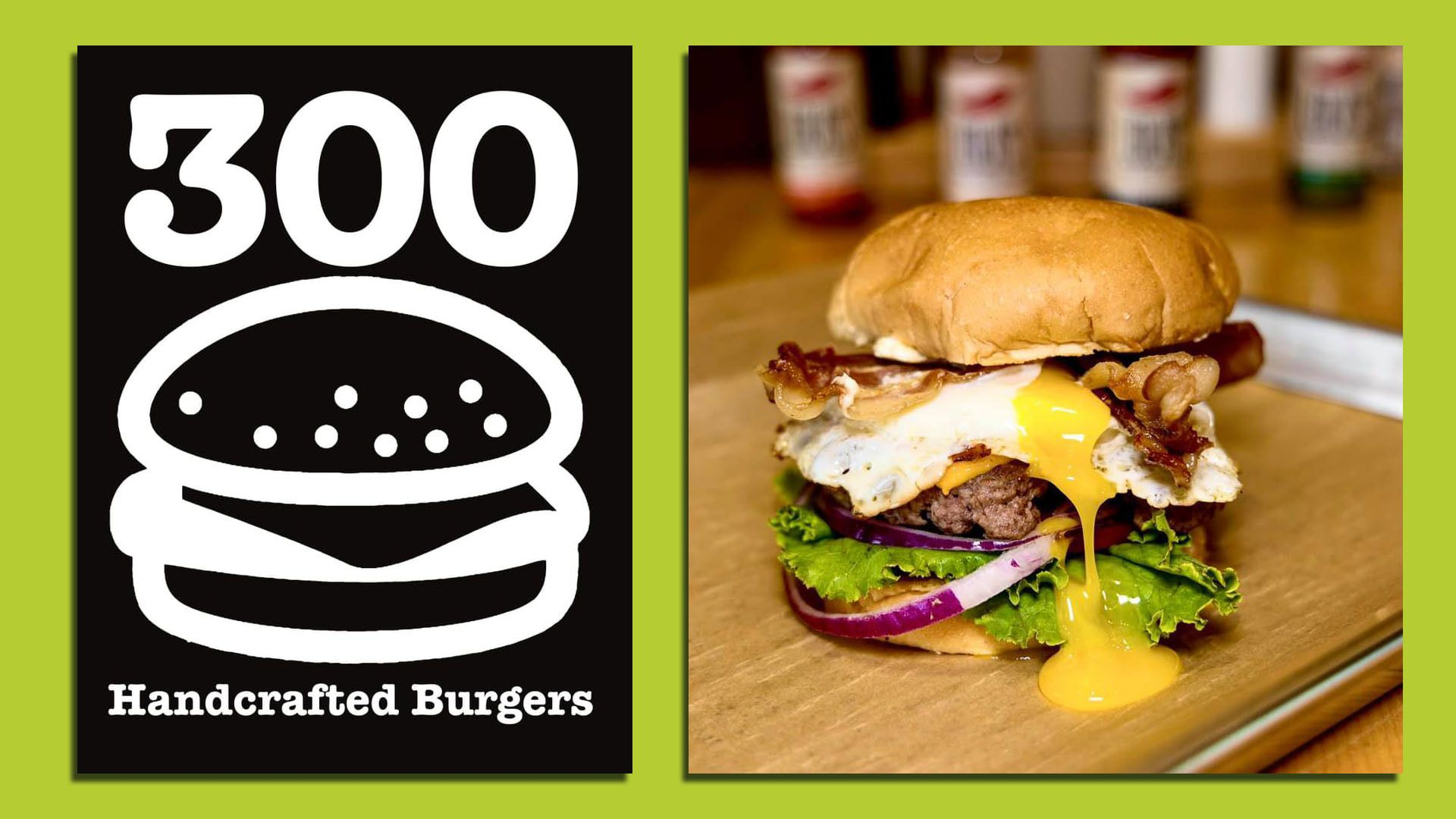 A photo of 300 Burger in Des Moines.
