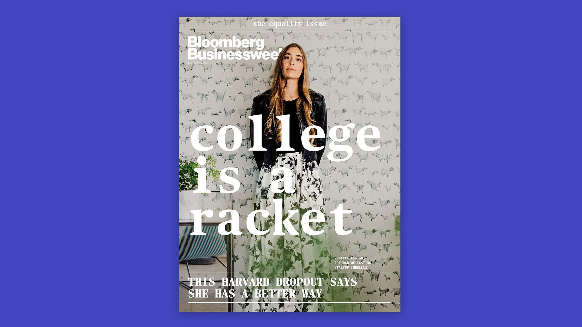 Cover of Bloomberg businessweek
