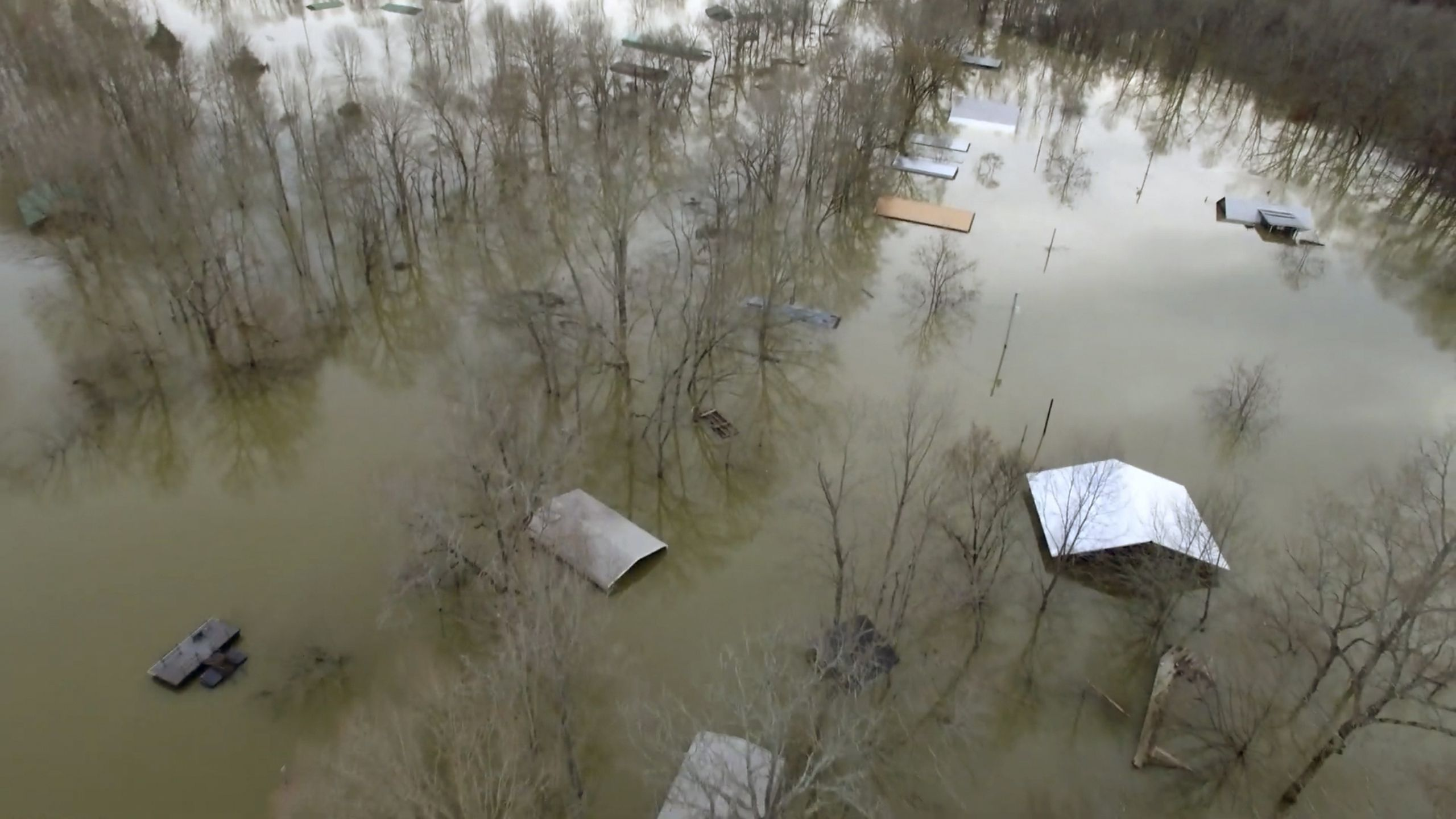 Heavy rain expected to pummel already-flooded Mississippi - Axios