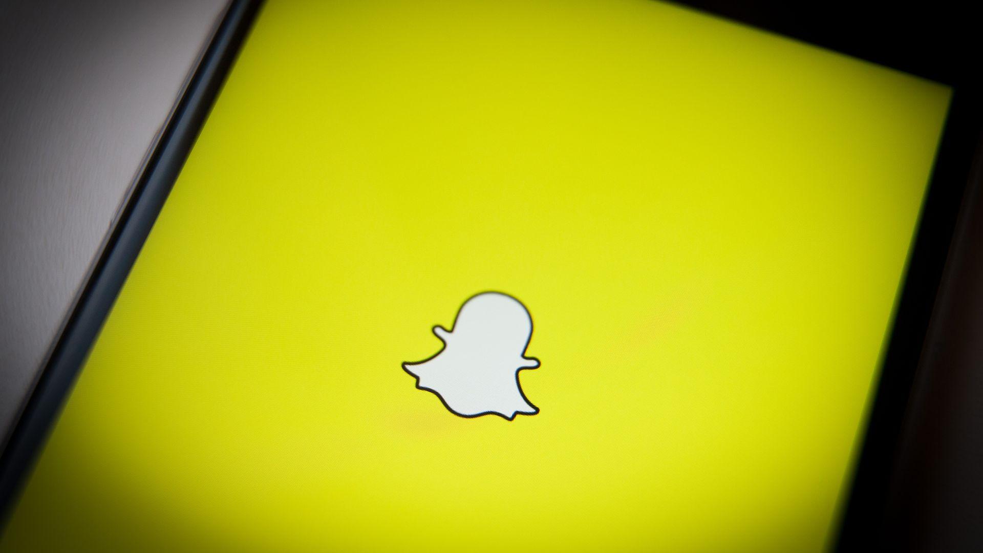 Snapchat's mobile app